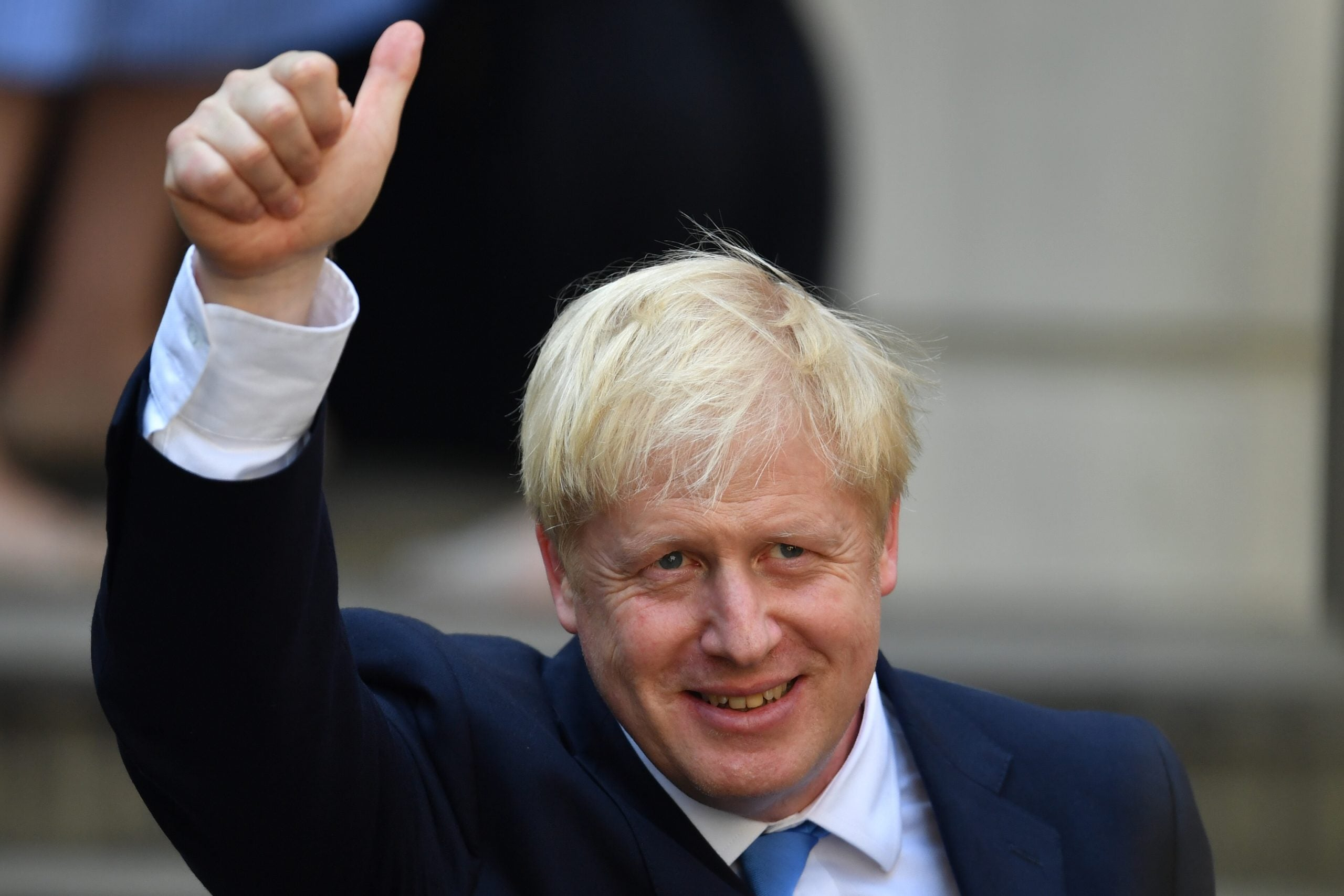 Leader: A huckster in Downing Street