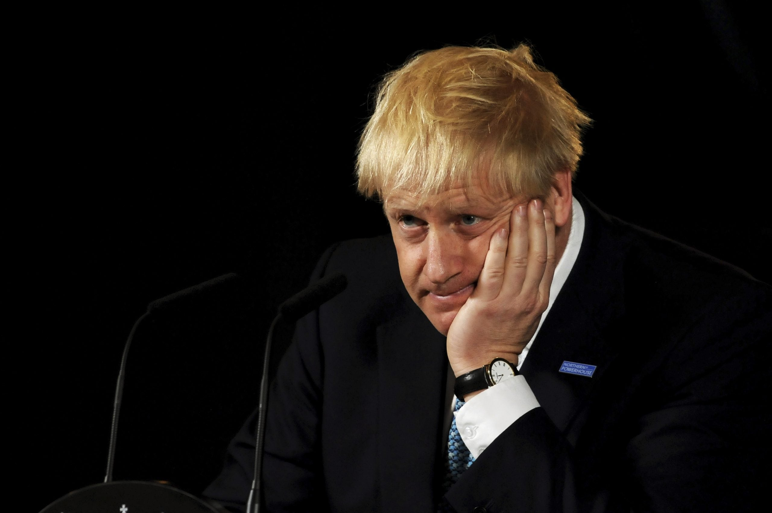 Being prime minister is too big a job for anybody – let alone a blundering golden-haired oaf
