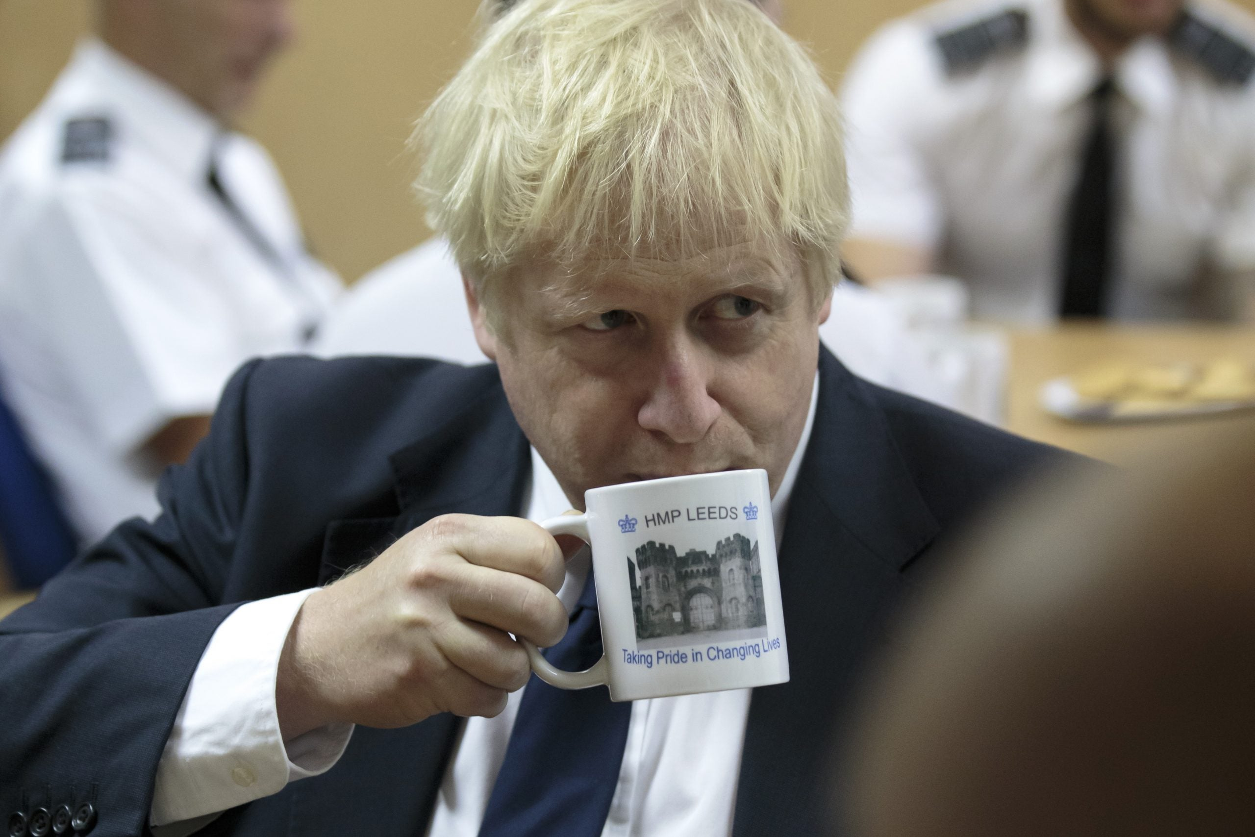 Why the rise of Boris Johnson is the last laugh of a decaying elite