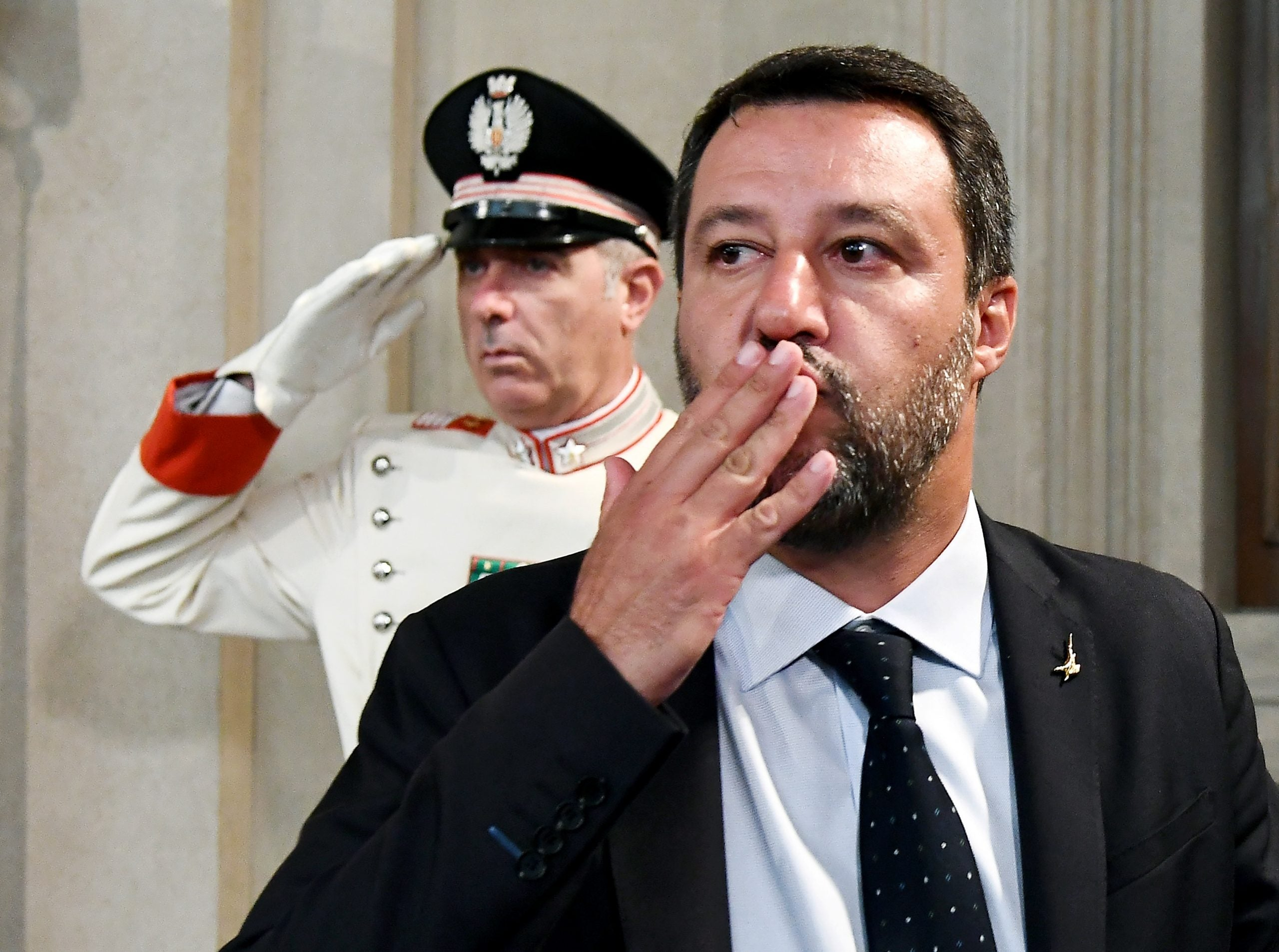 Italy's new centrist government isn't the end of Matteo Salvini's dreams of power