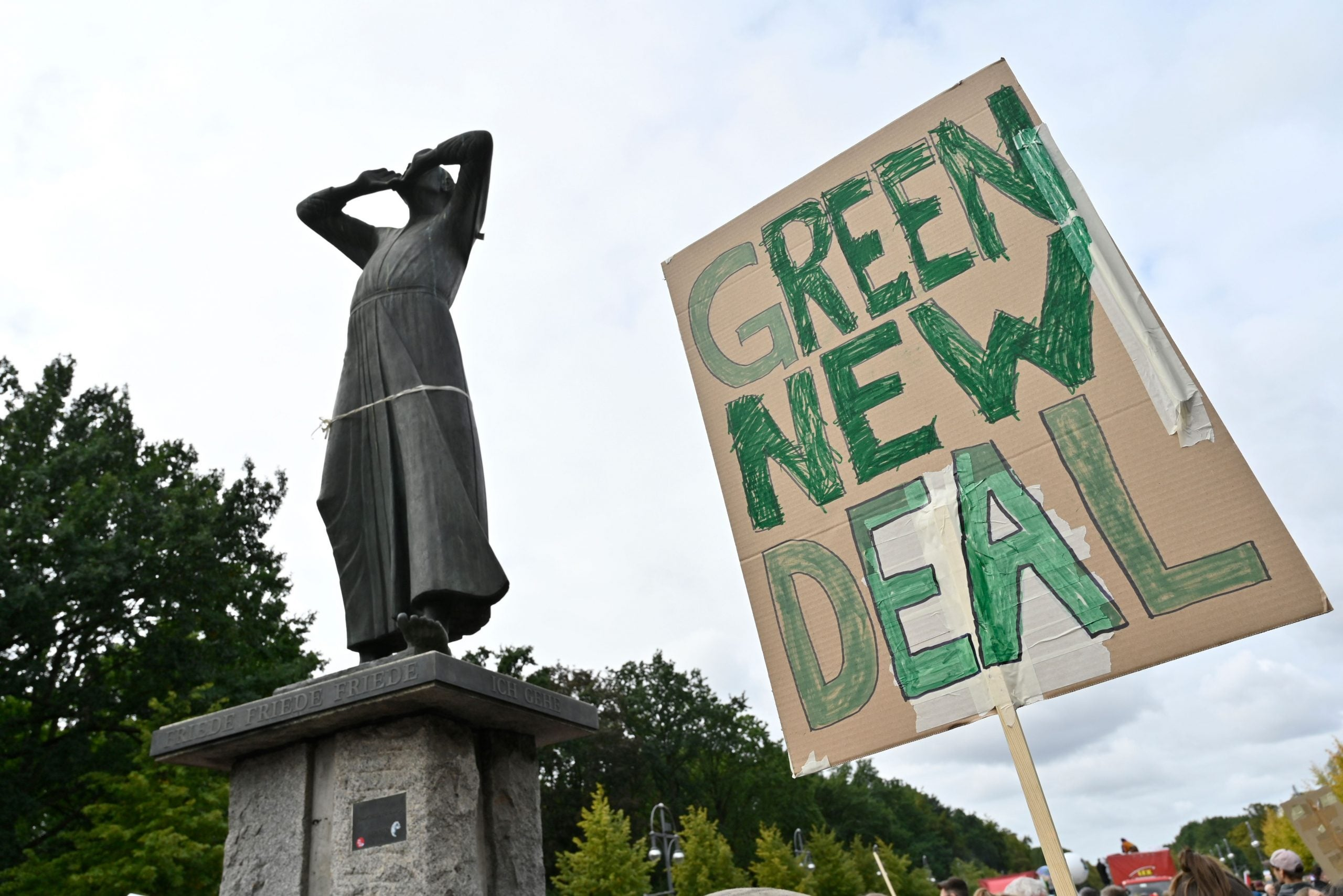 Why we need a Green New Deal to solve humanity's greatest challenge