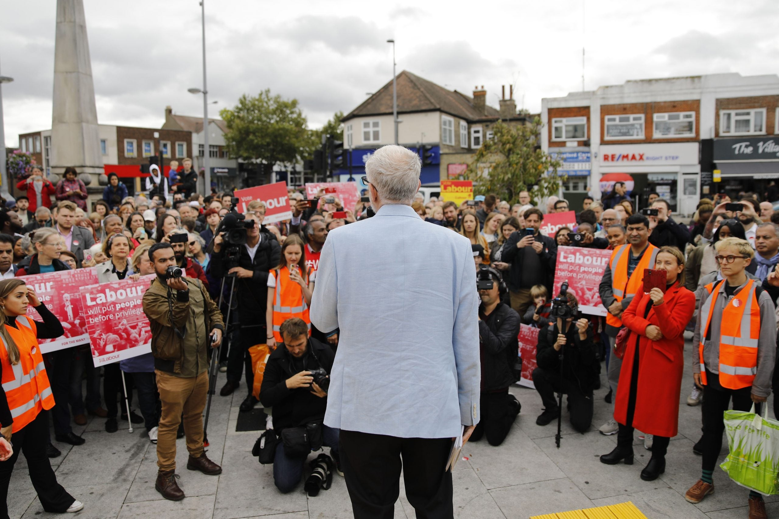 Many Labour MPs will be happy for Corbyn to lose if they can reclaim the party from the left