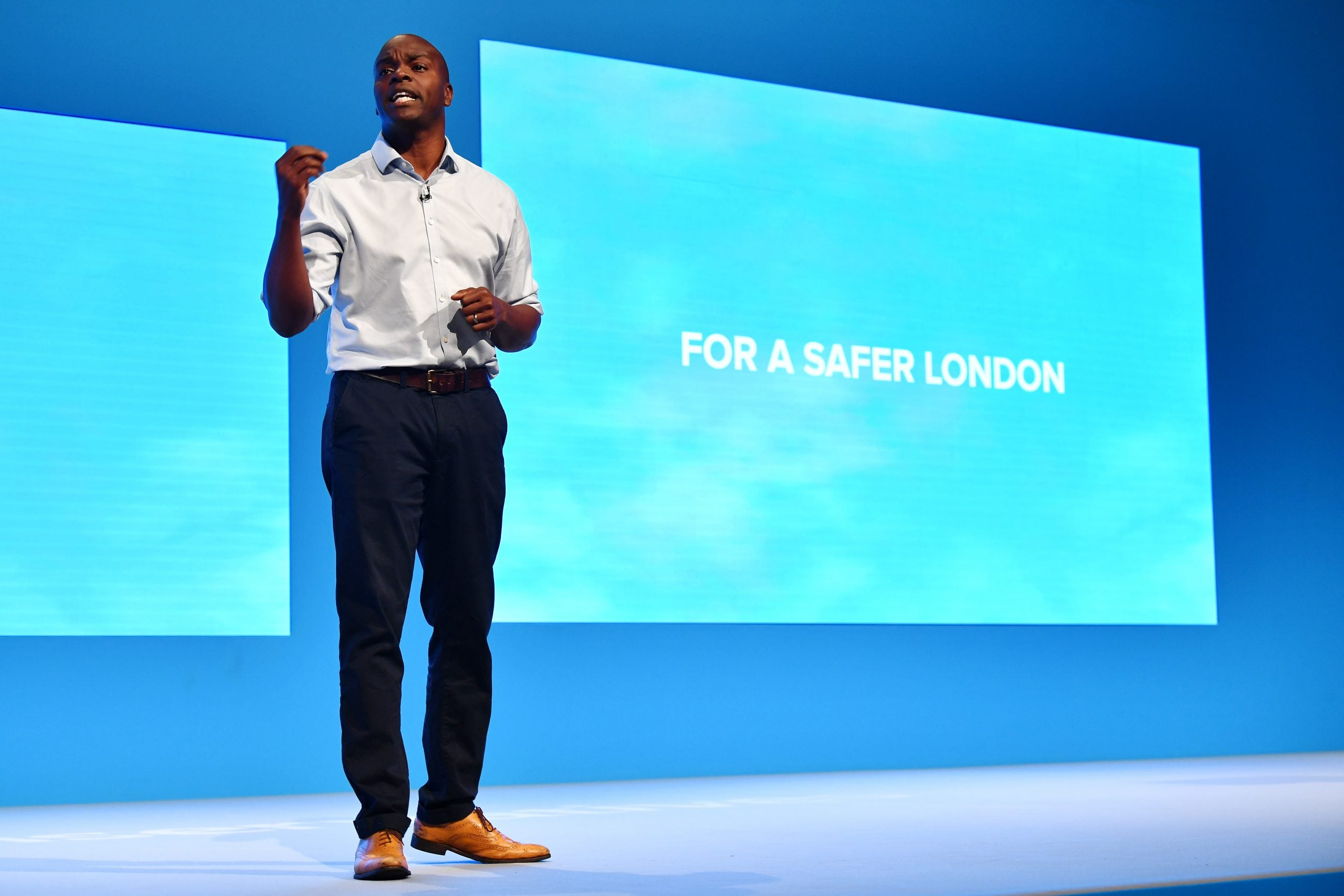 What is the point of Shaun Bailey's mayoral campaign?