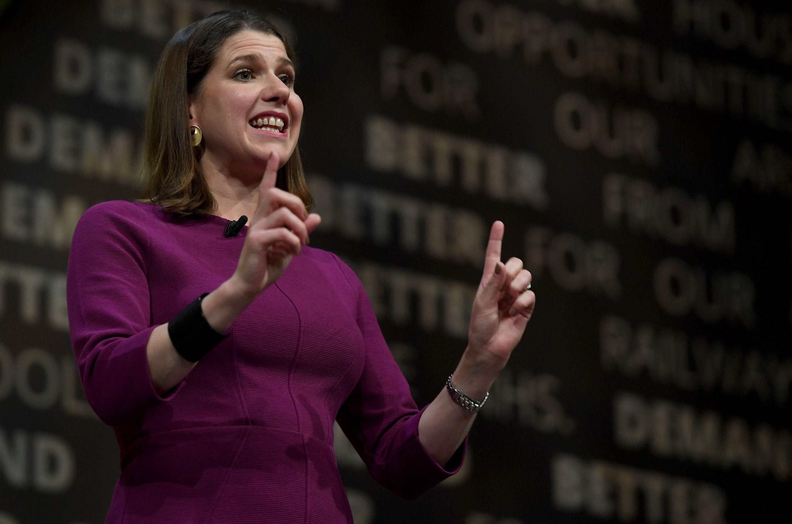 For Jo Swinson and the Liberal Democrats, ambition is the only option