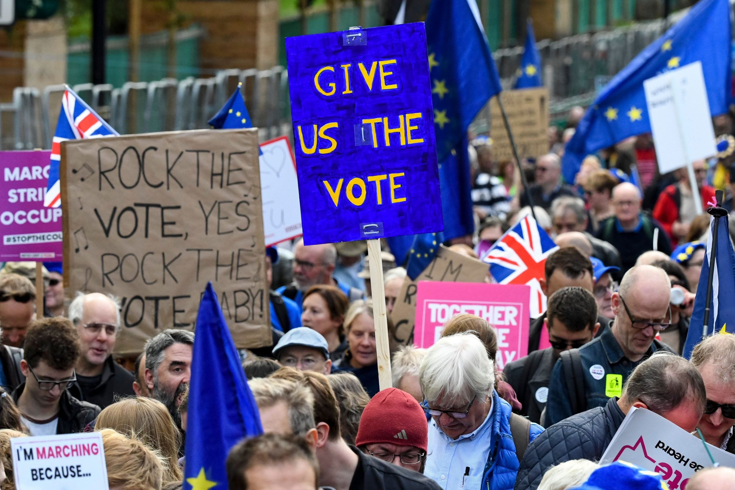 What we want: A second referendum