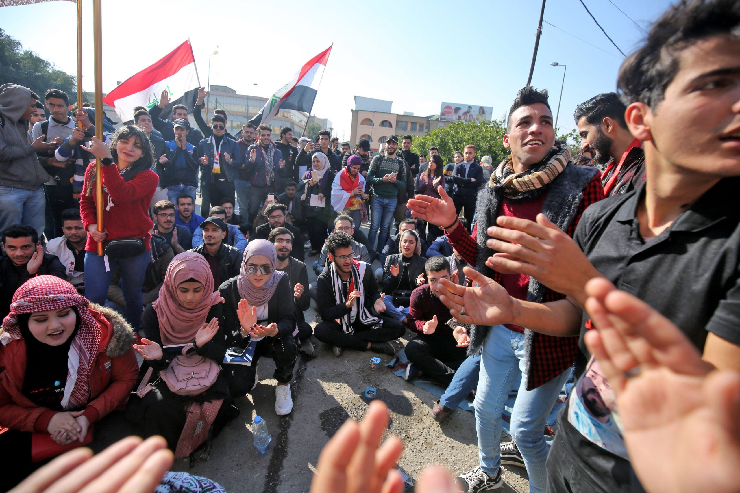 Jeremy Bowen's Diary: Hope and fear in Baghdad, the aftermath of the Soleimani killing, and history's lessons