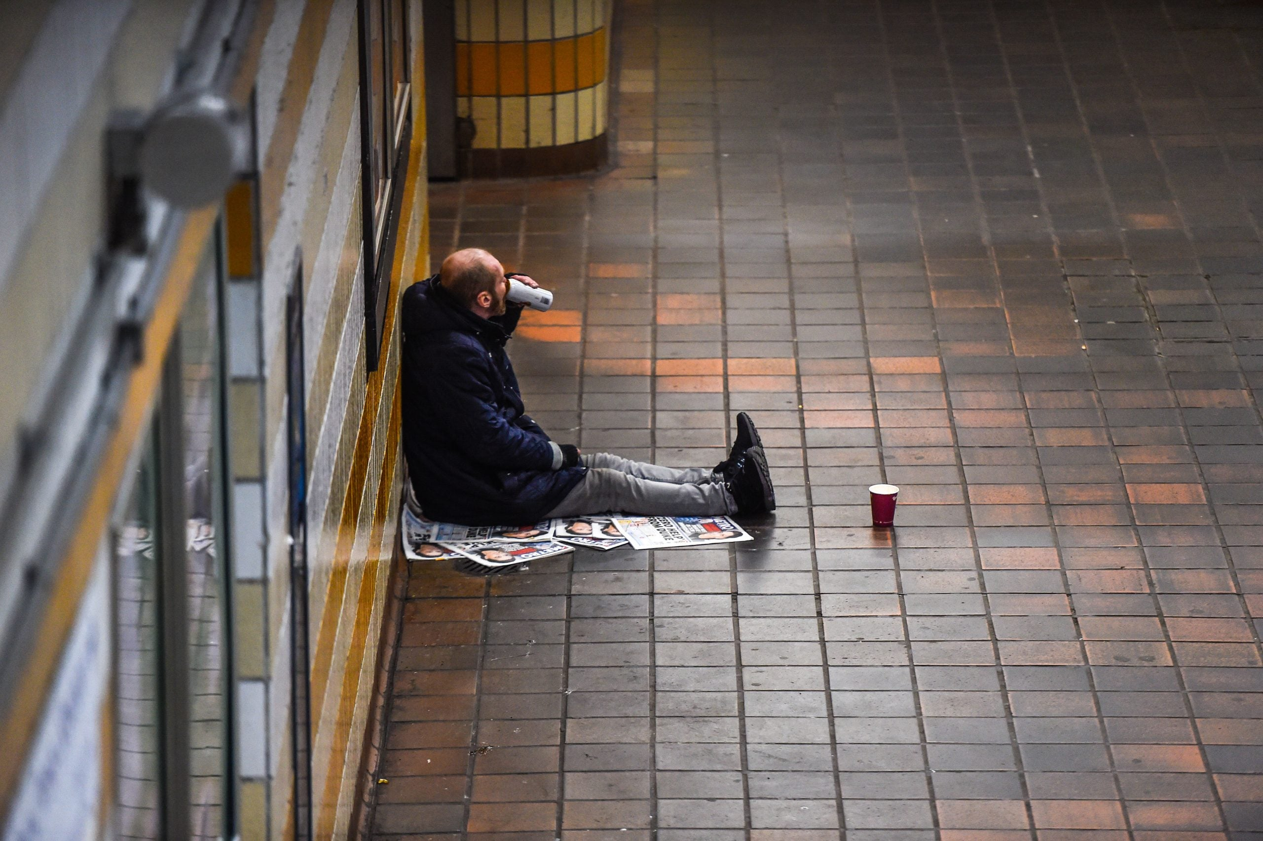 Hailed by a homeless guy, I should have kept my distance and hurried on – but I couldn't