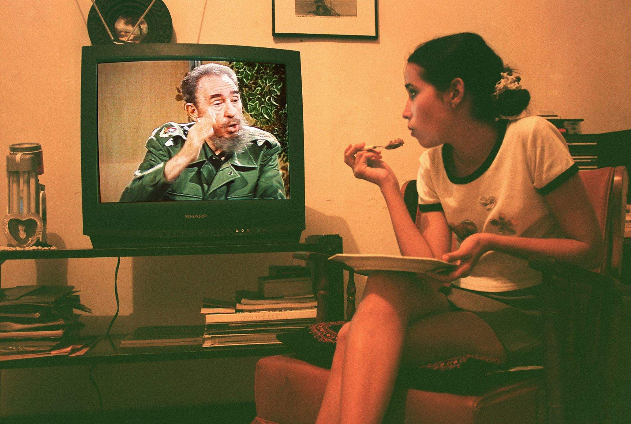 Only those who spoke to Fidel Castro can understand just how glamorous he was