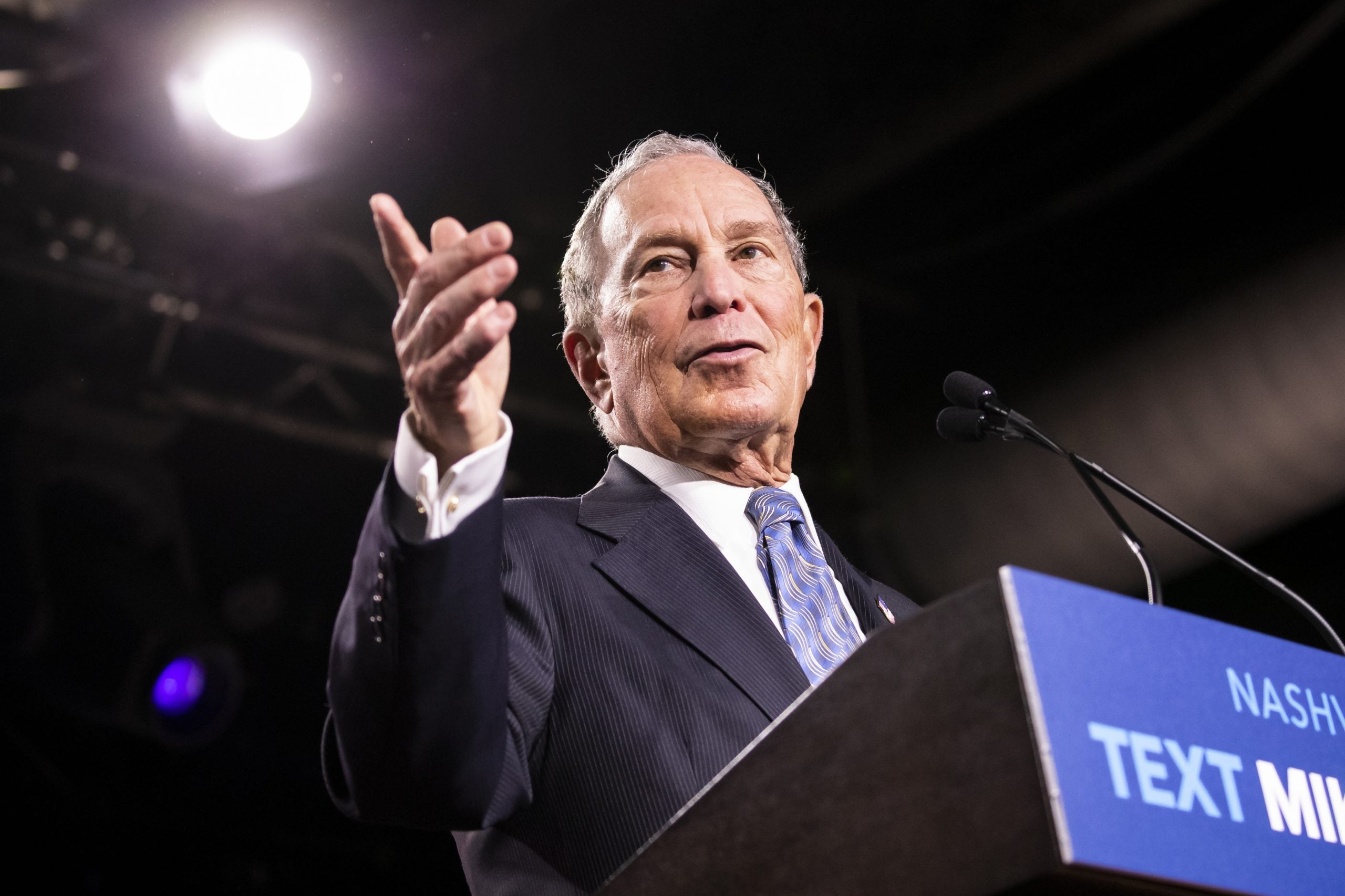 Michael Bloomberg's mega-buck presidential campaign is not the solution to US dysfunction