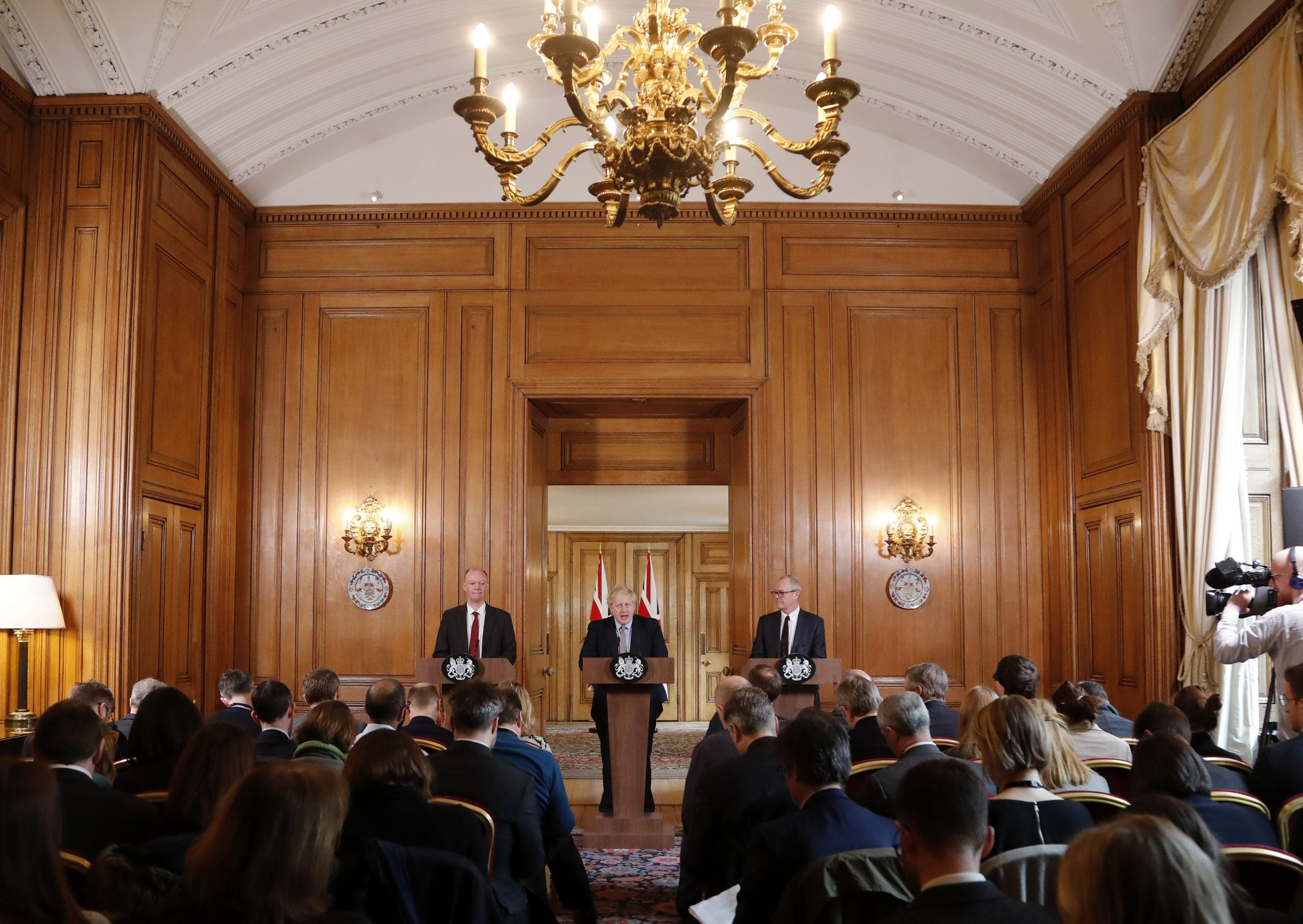 What is the point of the government's daily press conferences?