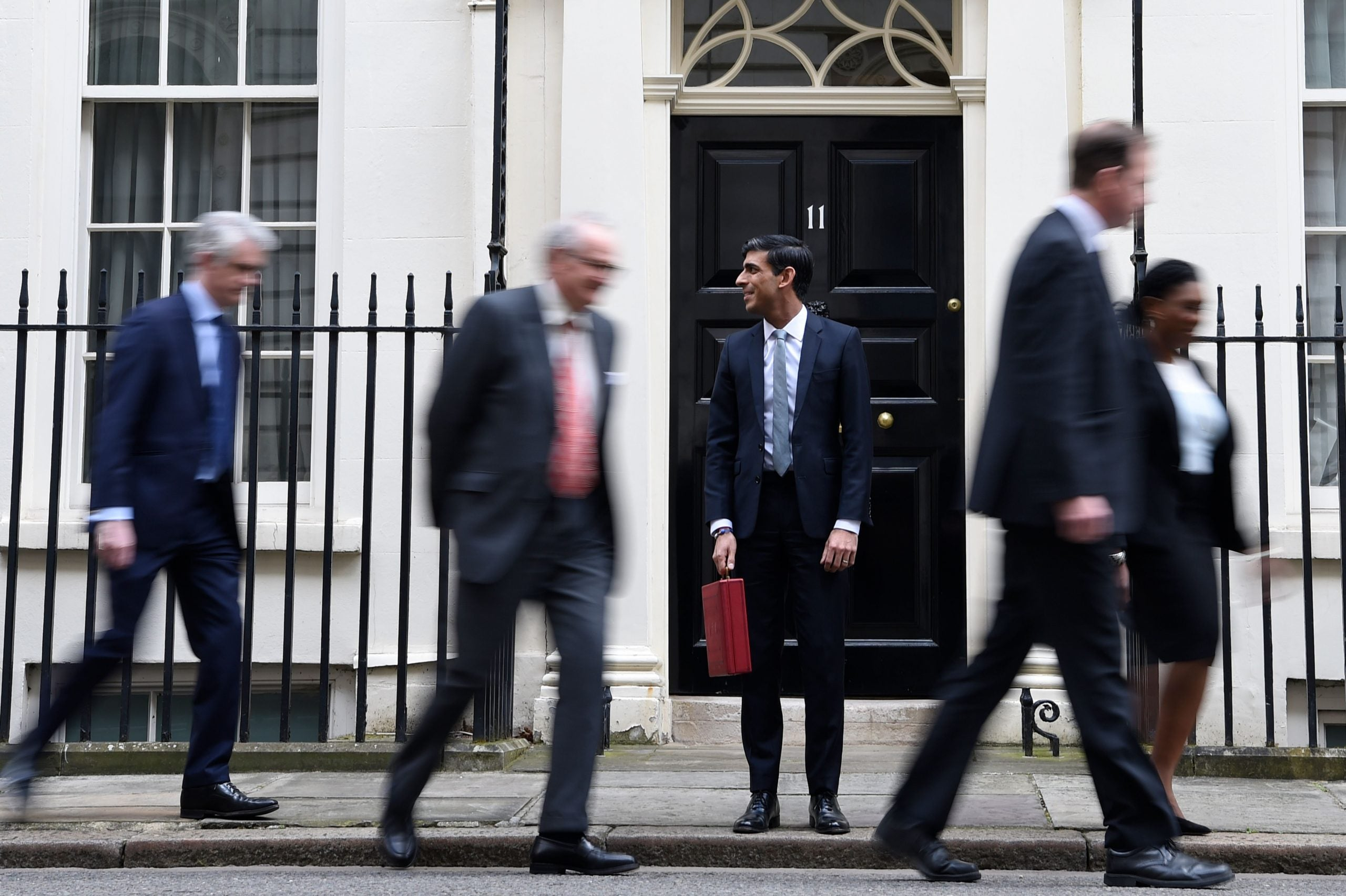 Rishi Sunak is learning that a chancellor is at the mercy of forces beyond his control