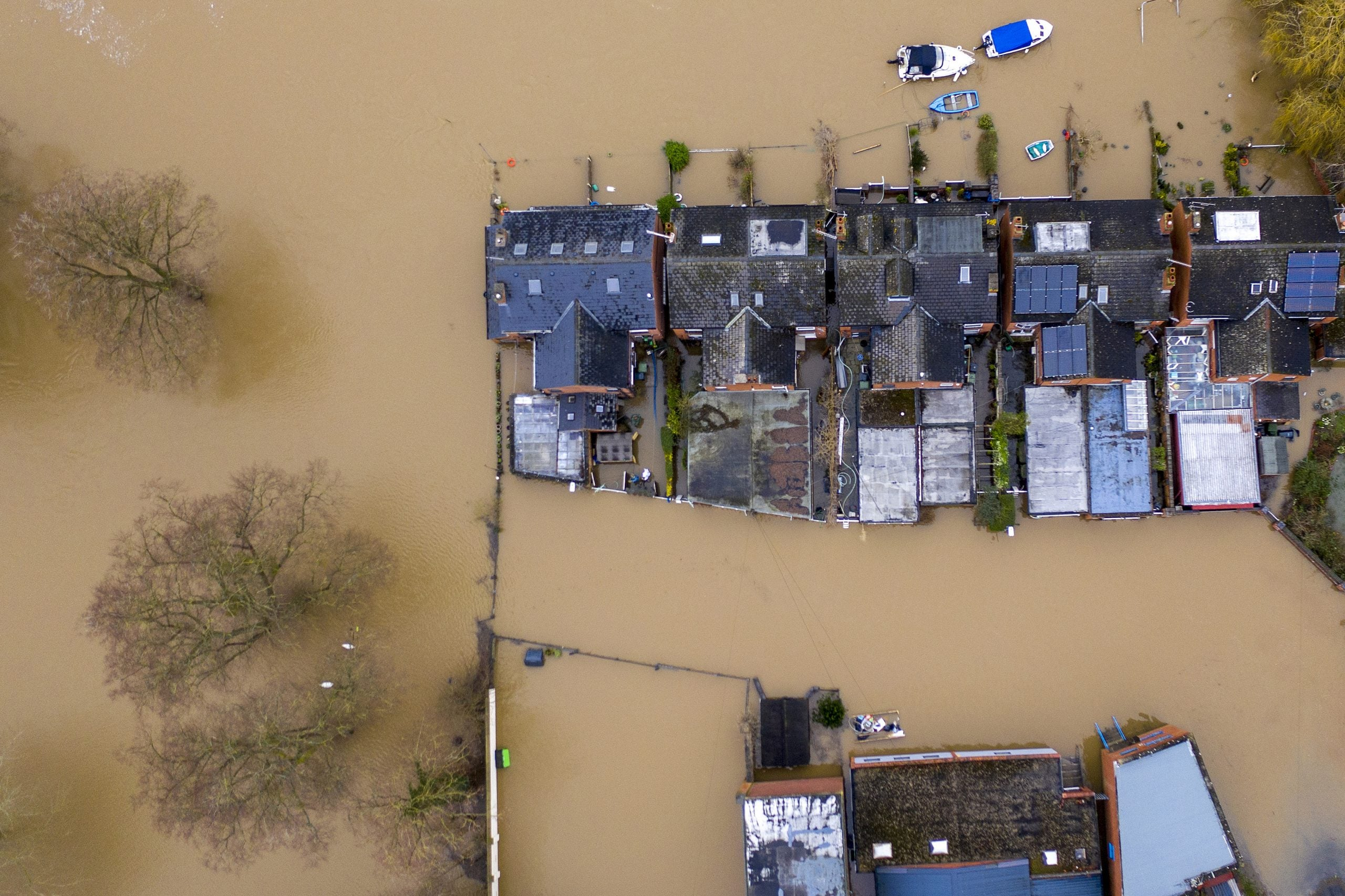 How floods divided Britain