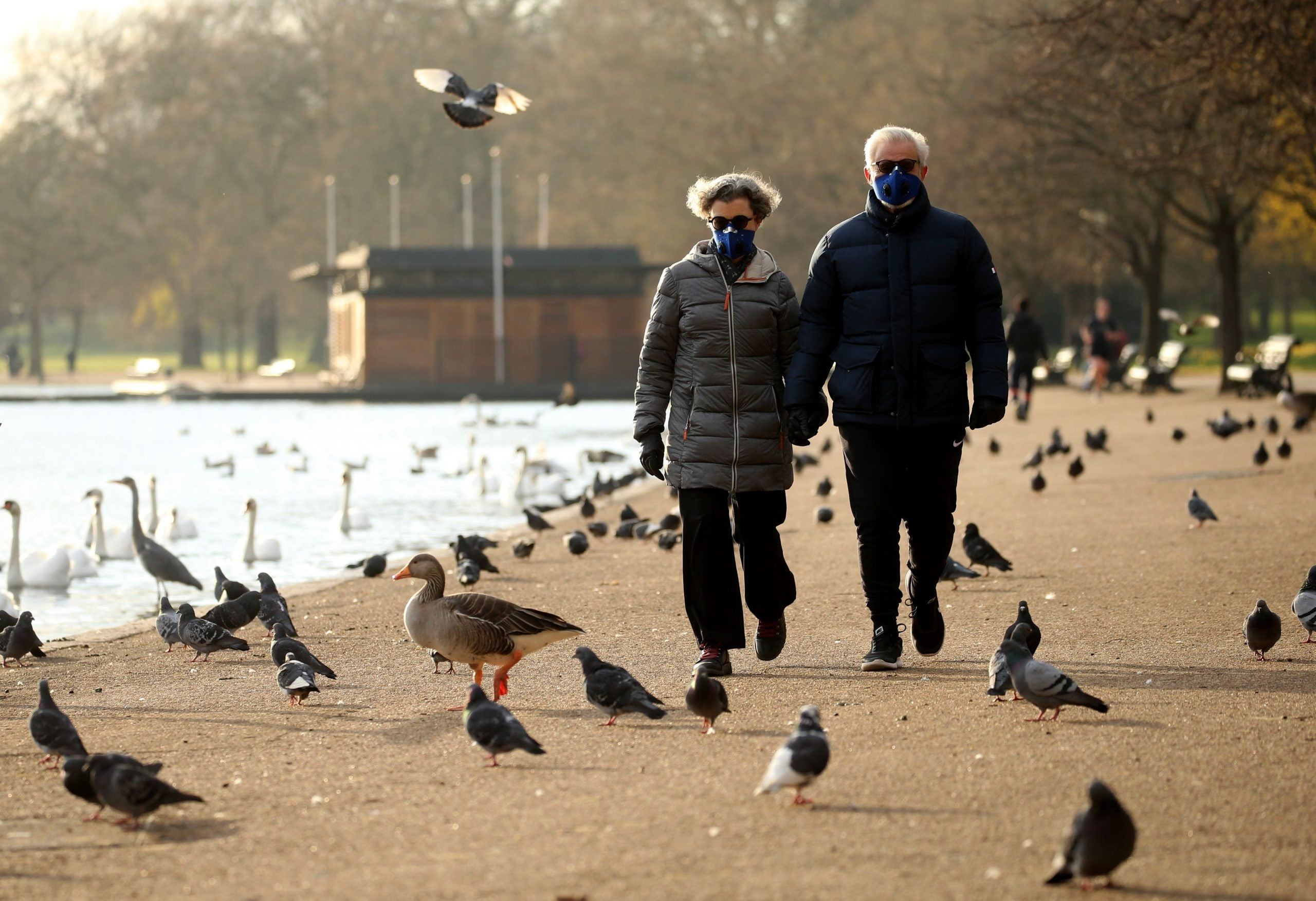 I have always appreciated London's parks and its efforts to keep them open show the city at its best