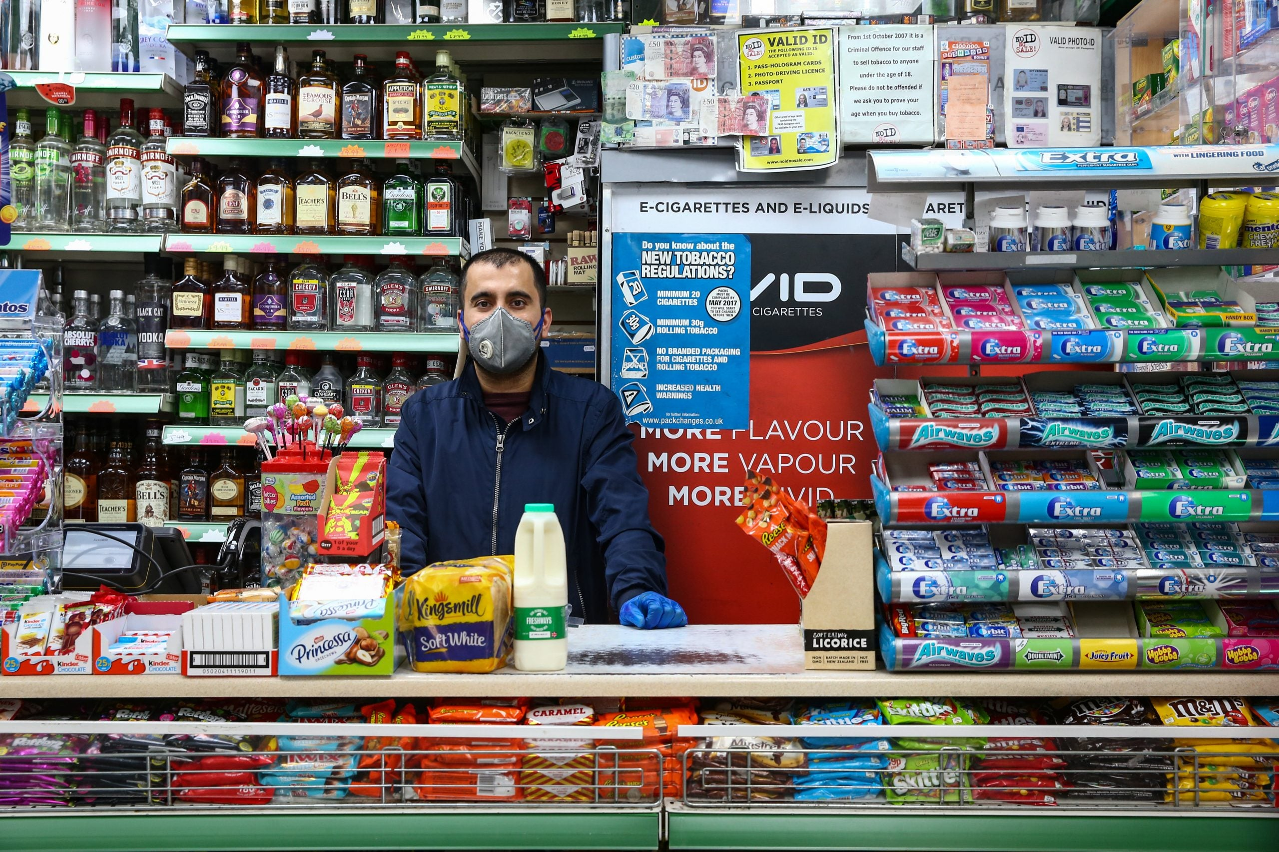 How Britain's essential but most vulnerable workers were exposed as the virus spread rapidly