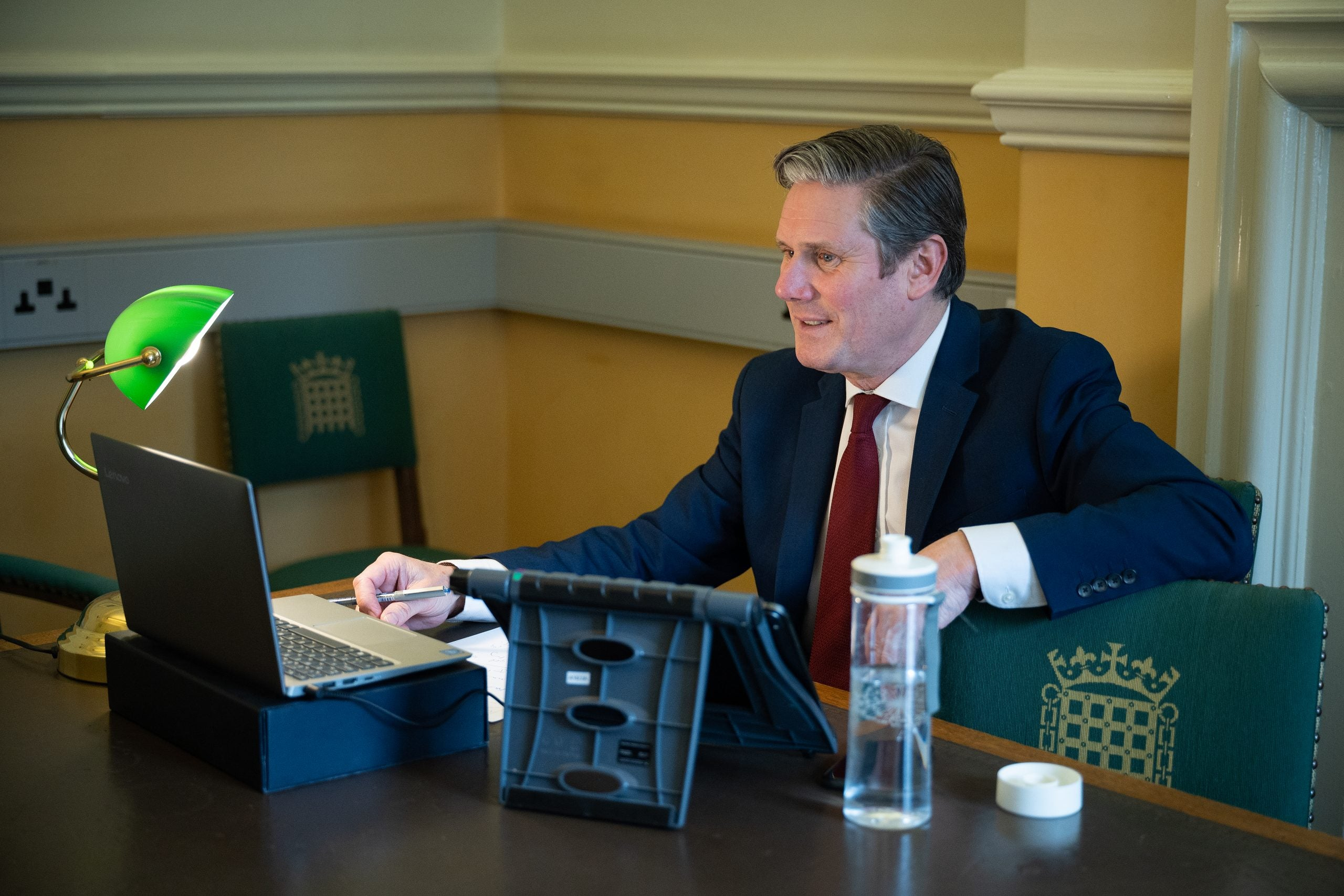 Keir Starmer opens up clear lead over Boris Johnson in public approval