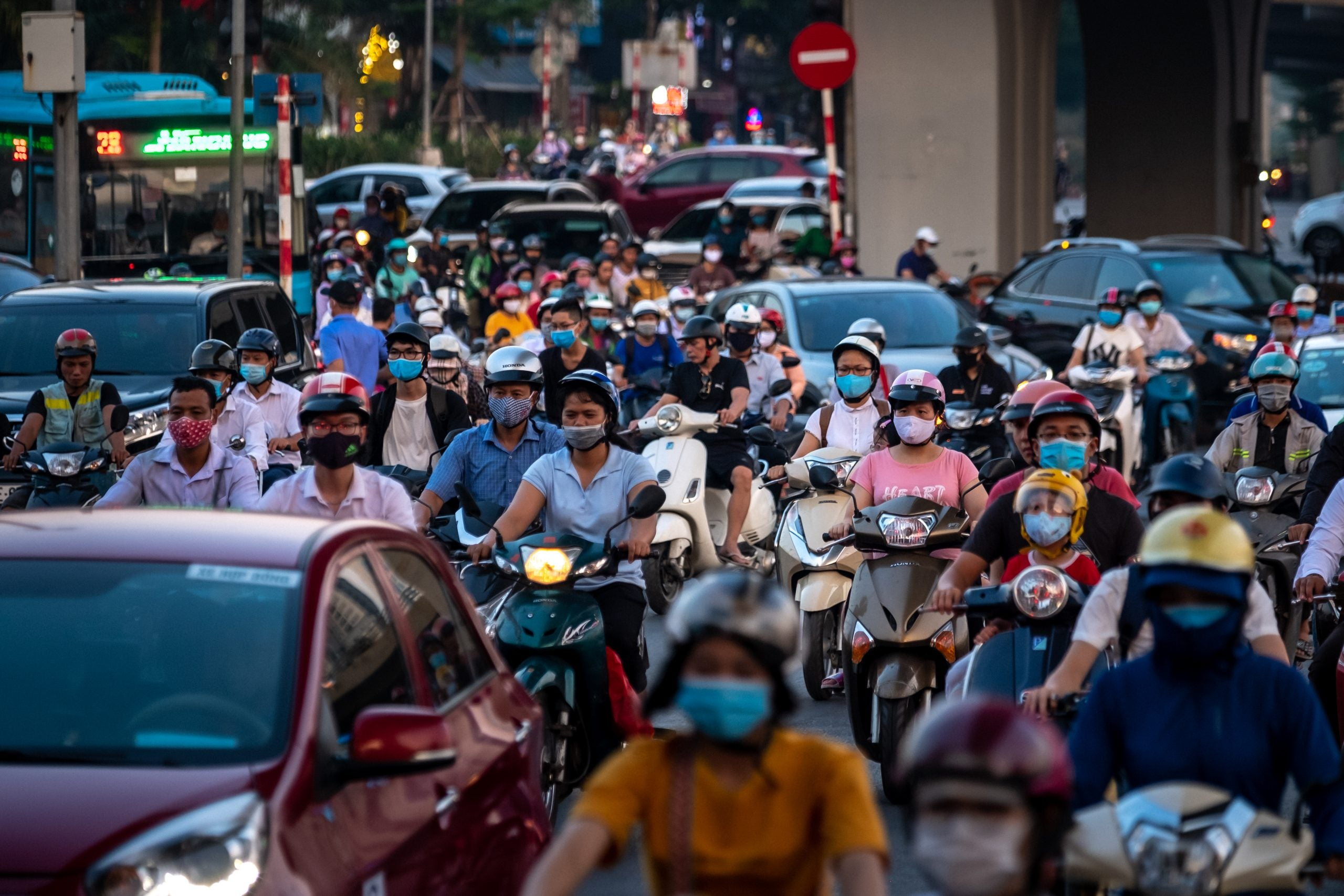 Order governed Ho Chi Minh City during its effective first lockdown, but laxity has returned