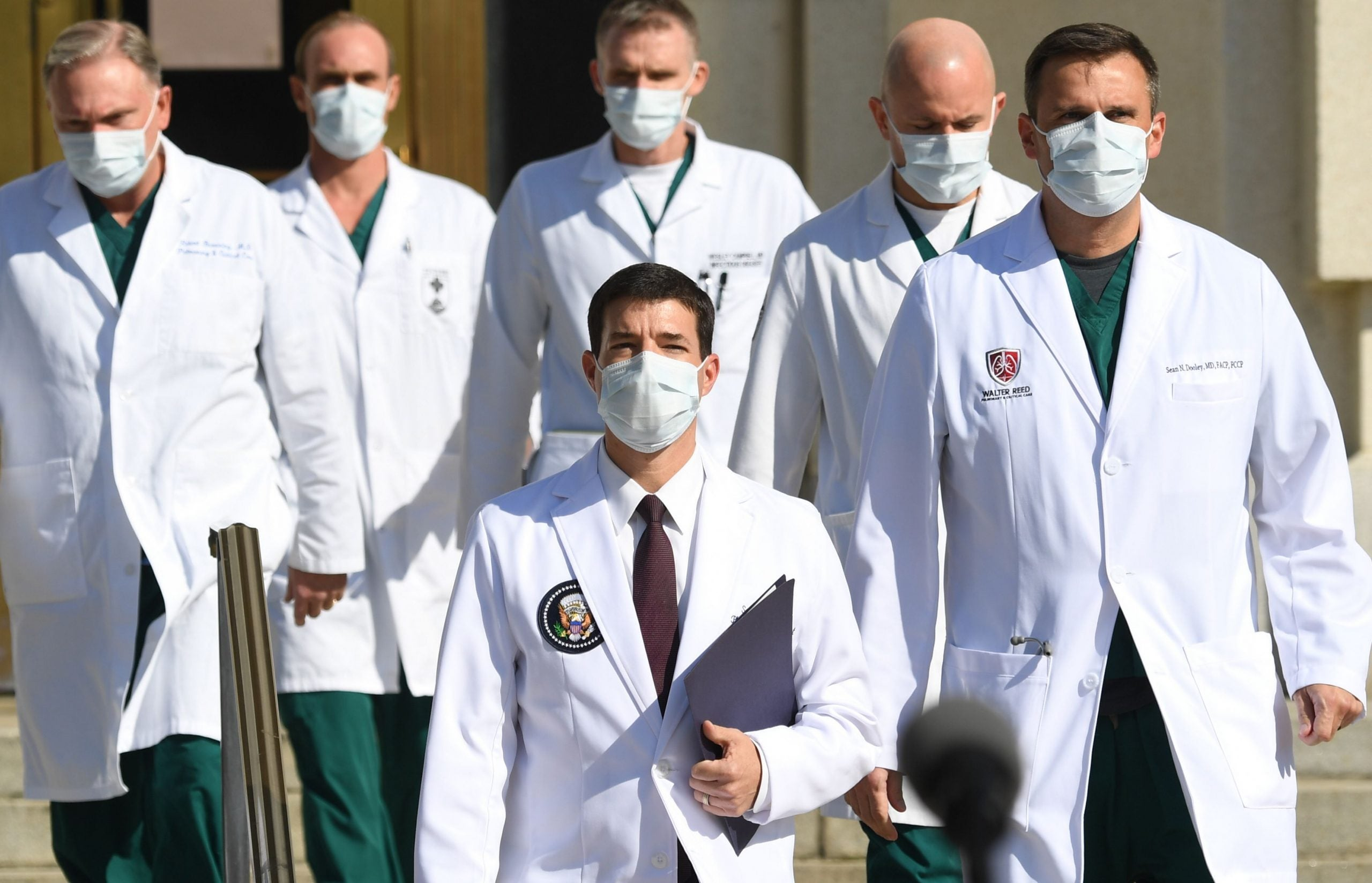 First Thoughts: All the president's medics, and the reality of Patel's dystopia