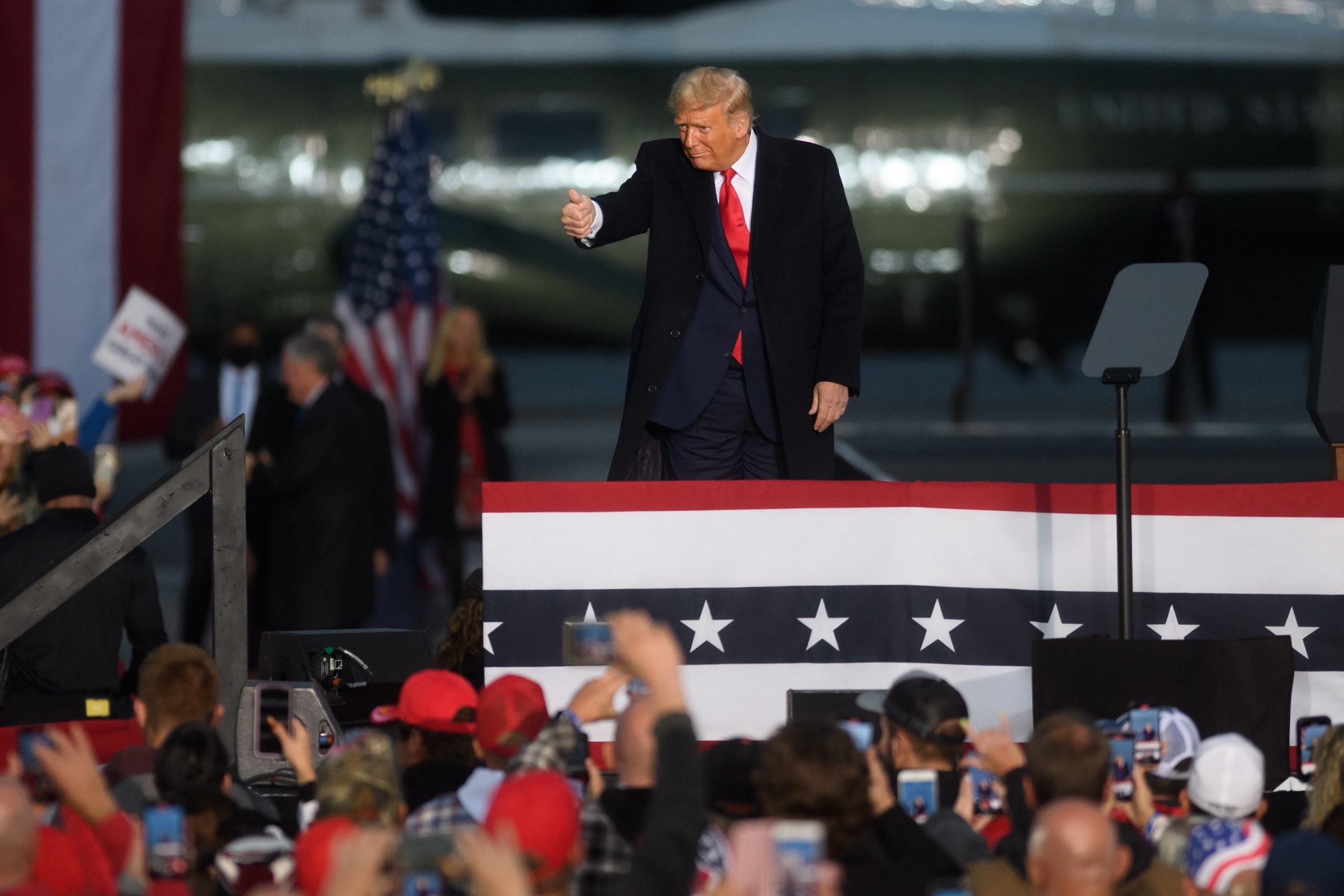 US election swing states: will Donald Trump hold on to Pennsylvania?