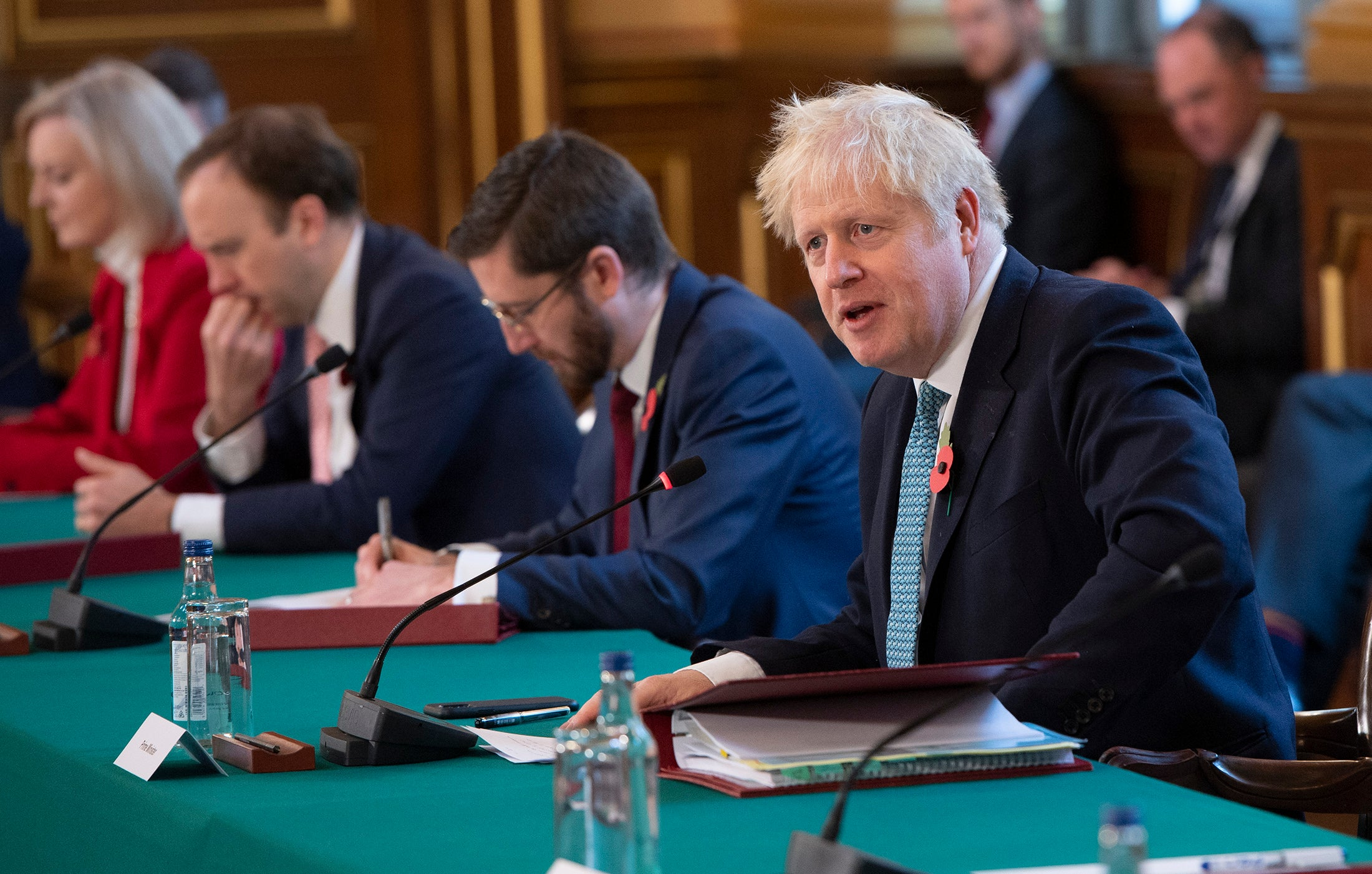 From a young age Boris Johnson longed to be World King – but the gods are mocking him