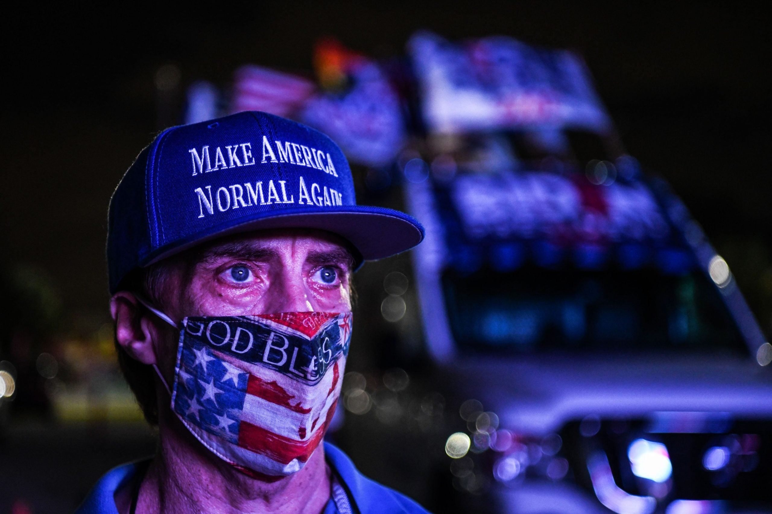 American voters want certainty. Instead they have doubt, division and a nation under threat