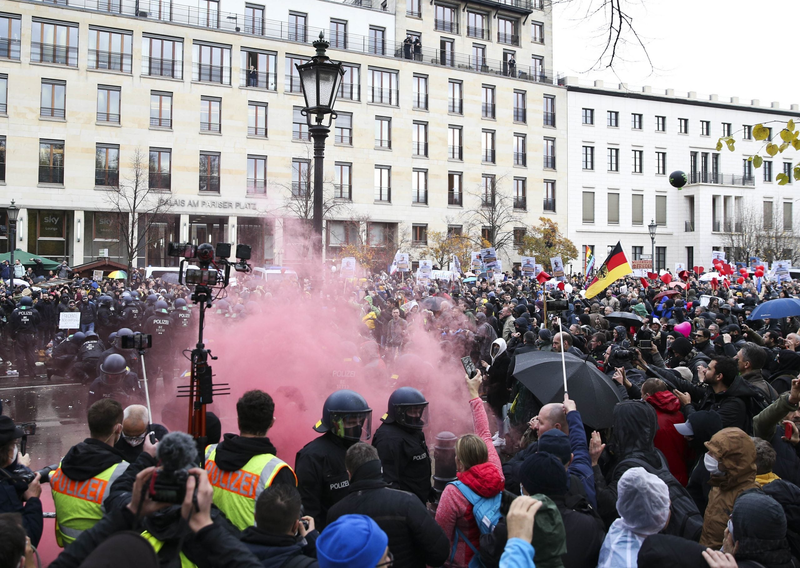 What Germany's anti-lockdown protests reveal about the country