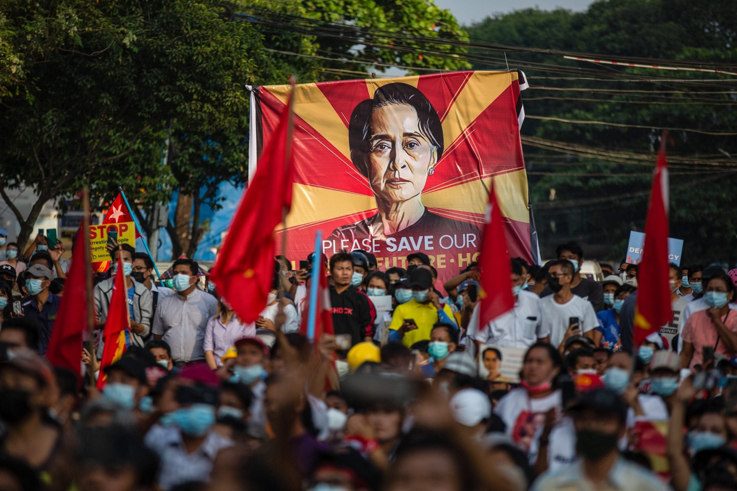 How will democracy be defined after Myanmar's military coup?