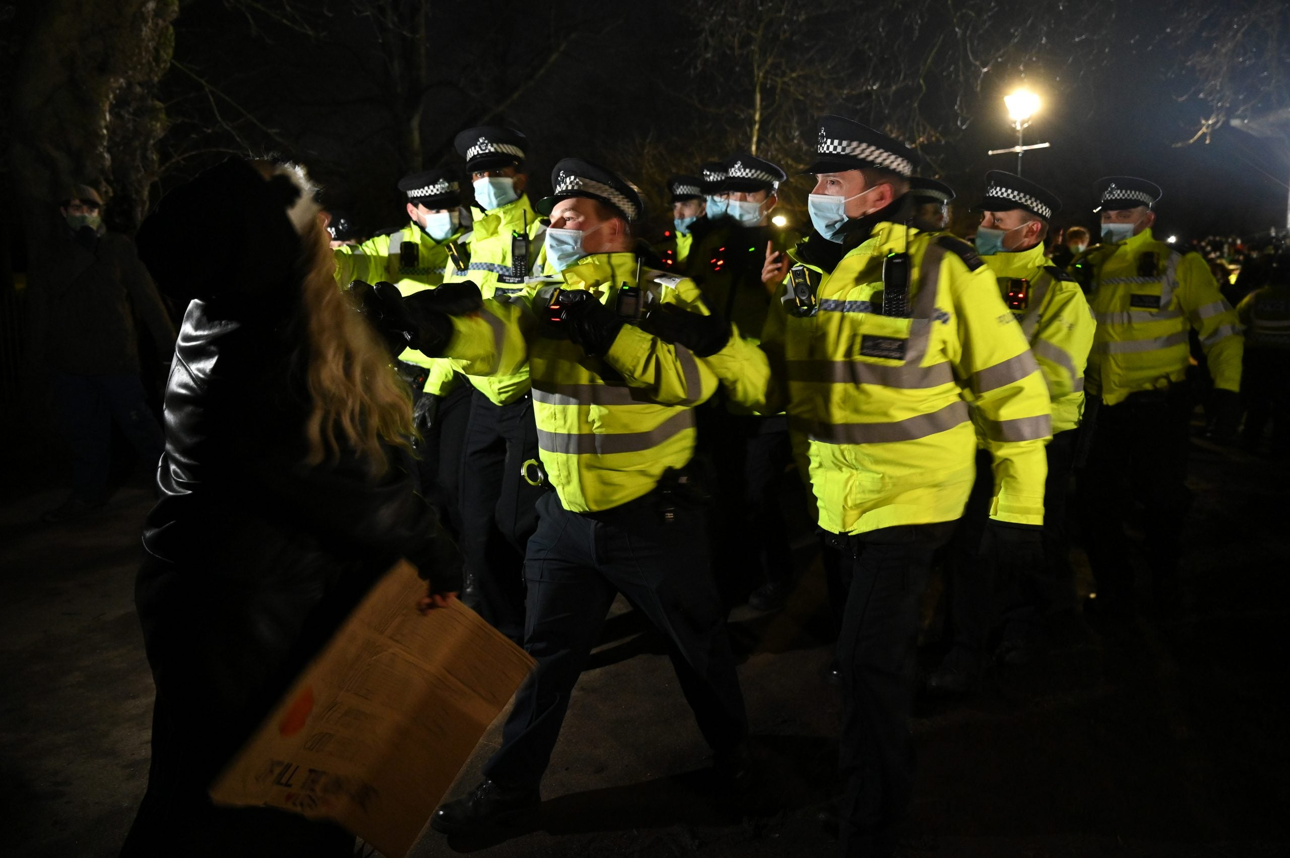 The crackdown on the Clapham vigil shows why the policing bill is so dangerous