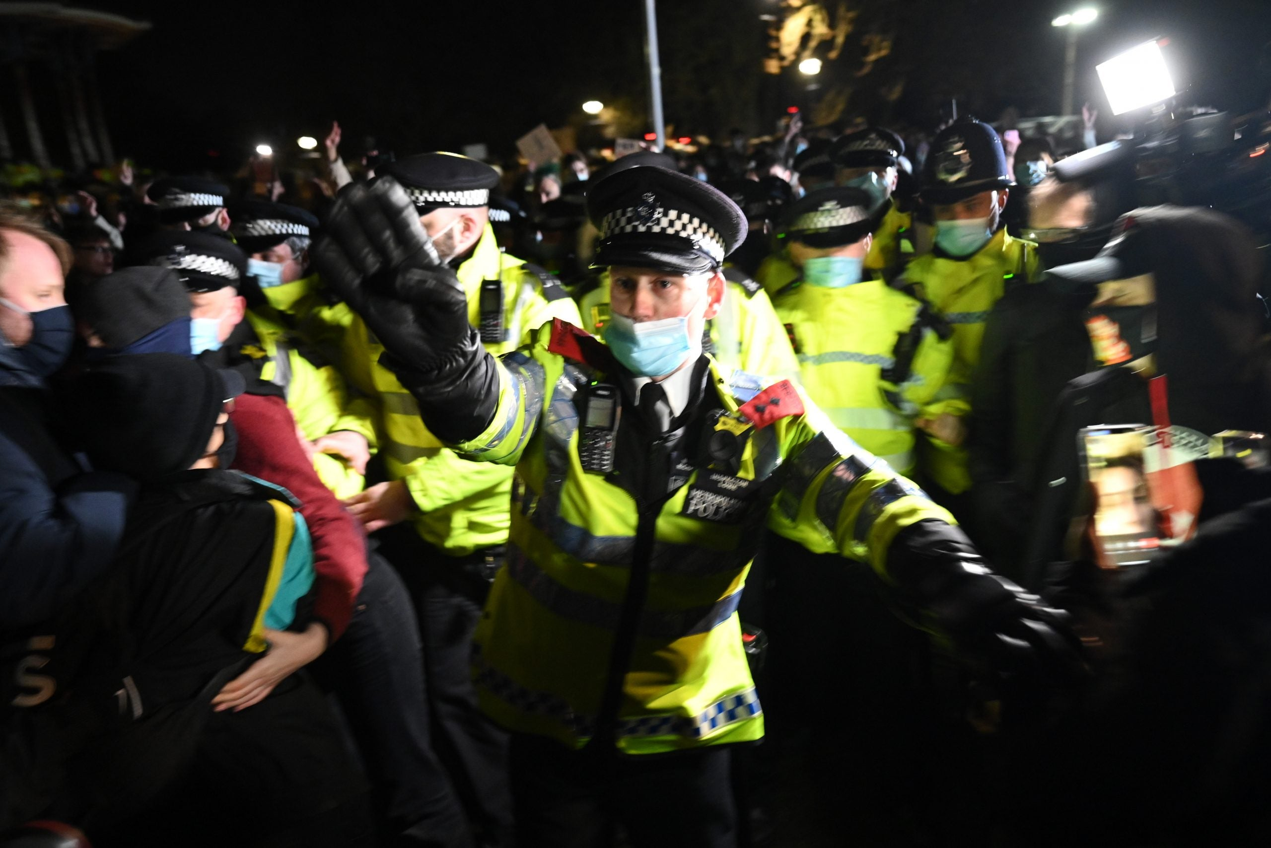 What the Sarah Everard vigil crackdown means for the policing bill