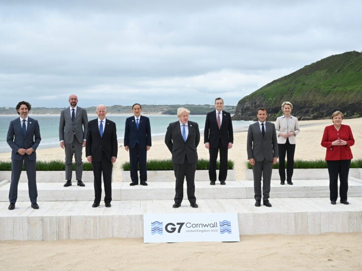 How the G7's economic power has diminished