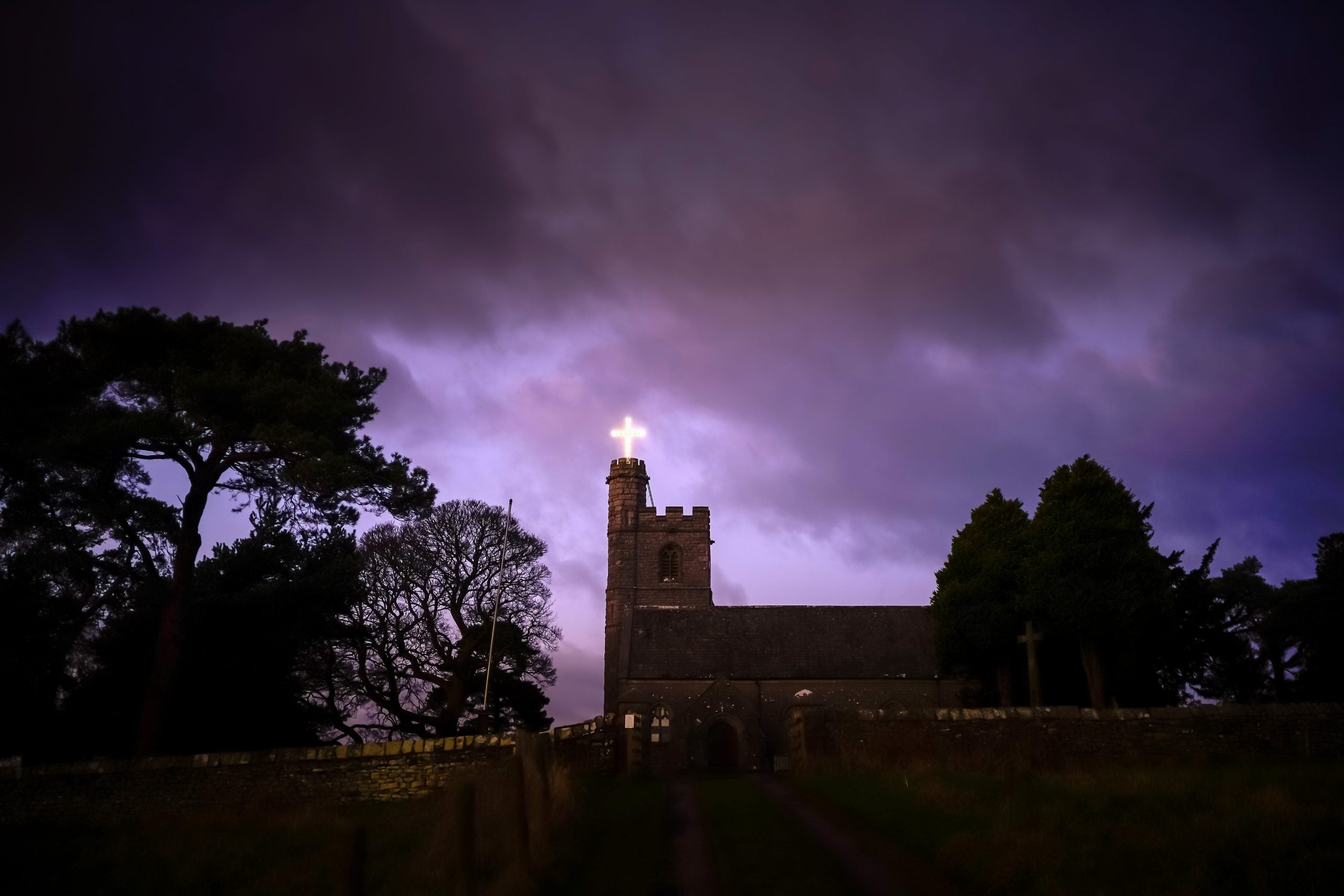 This England: Thief on a hot church roof
