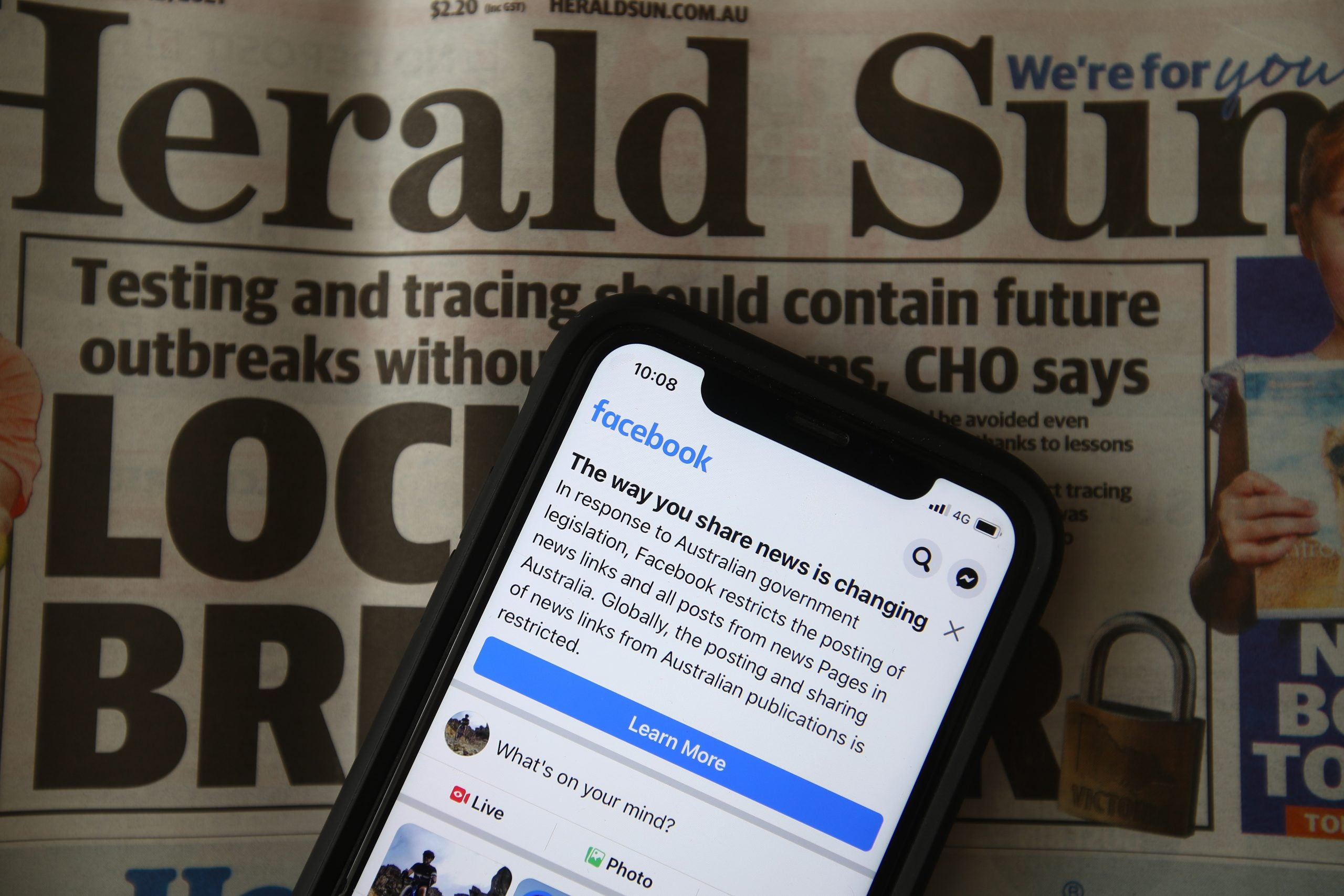 Why Facebook was right to block Australian news content