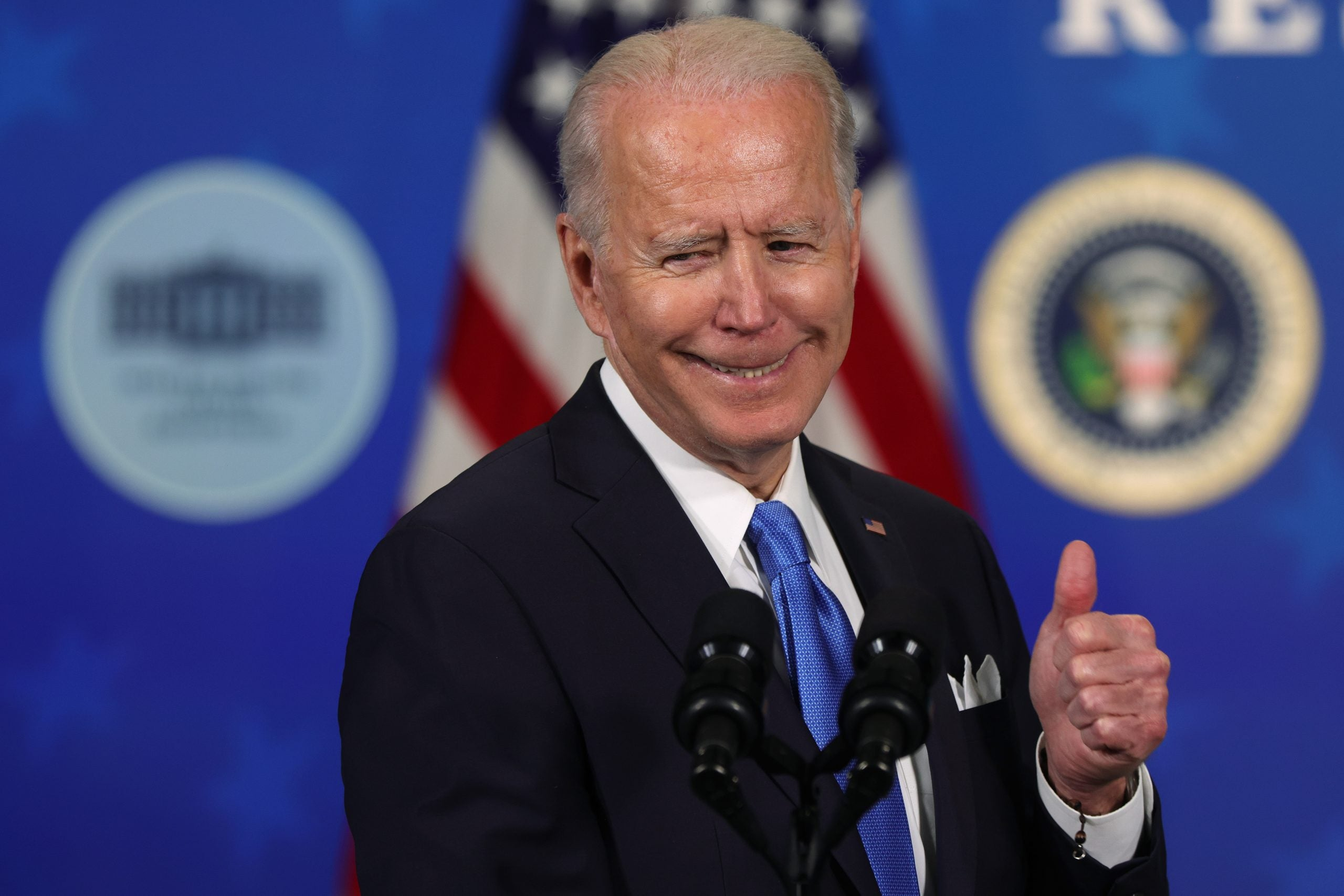 What does Joe Biden's $1.9trn stimulus mean for conservatives?