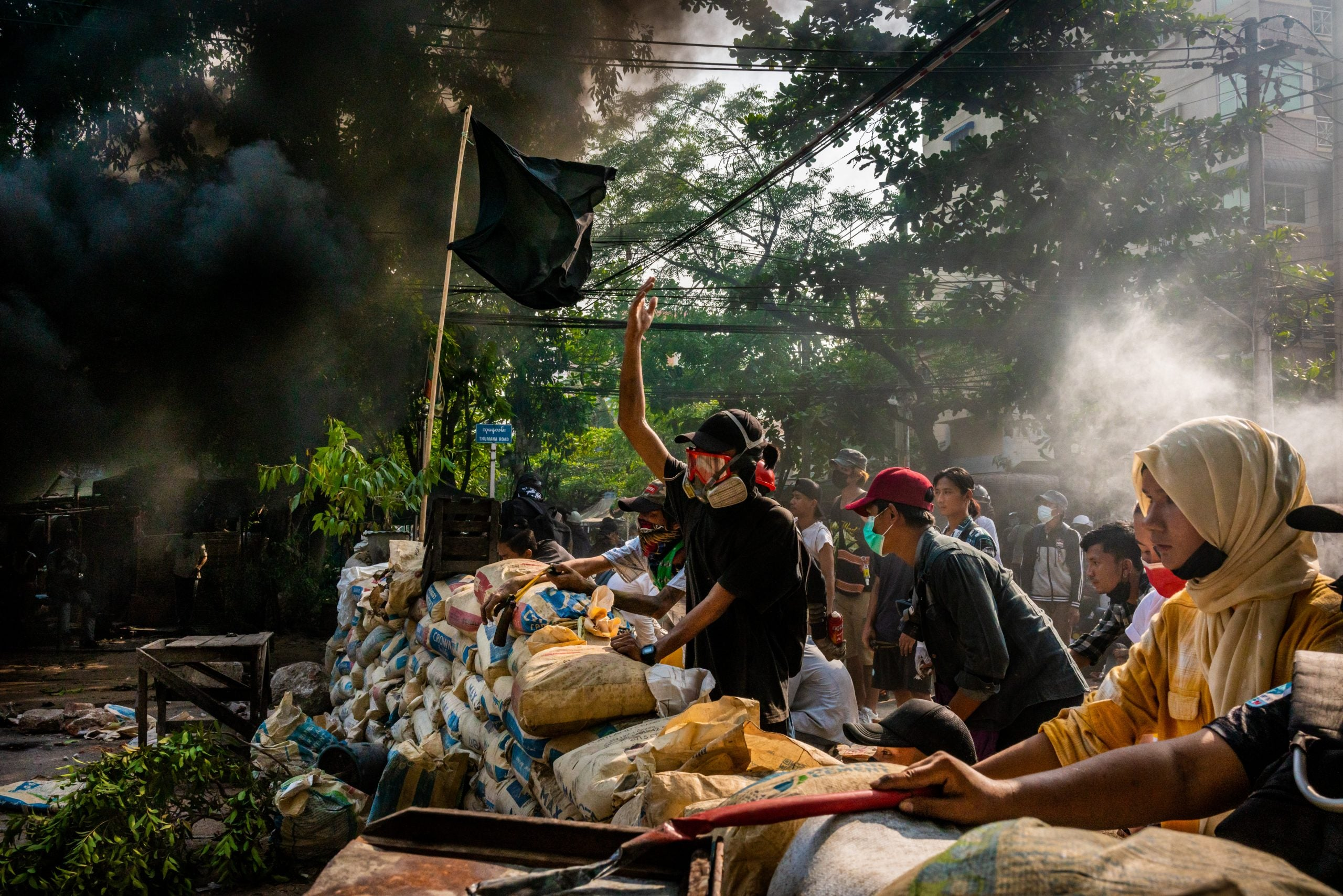 How total violence has become the Myanmar military's chosen route to power