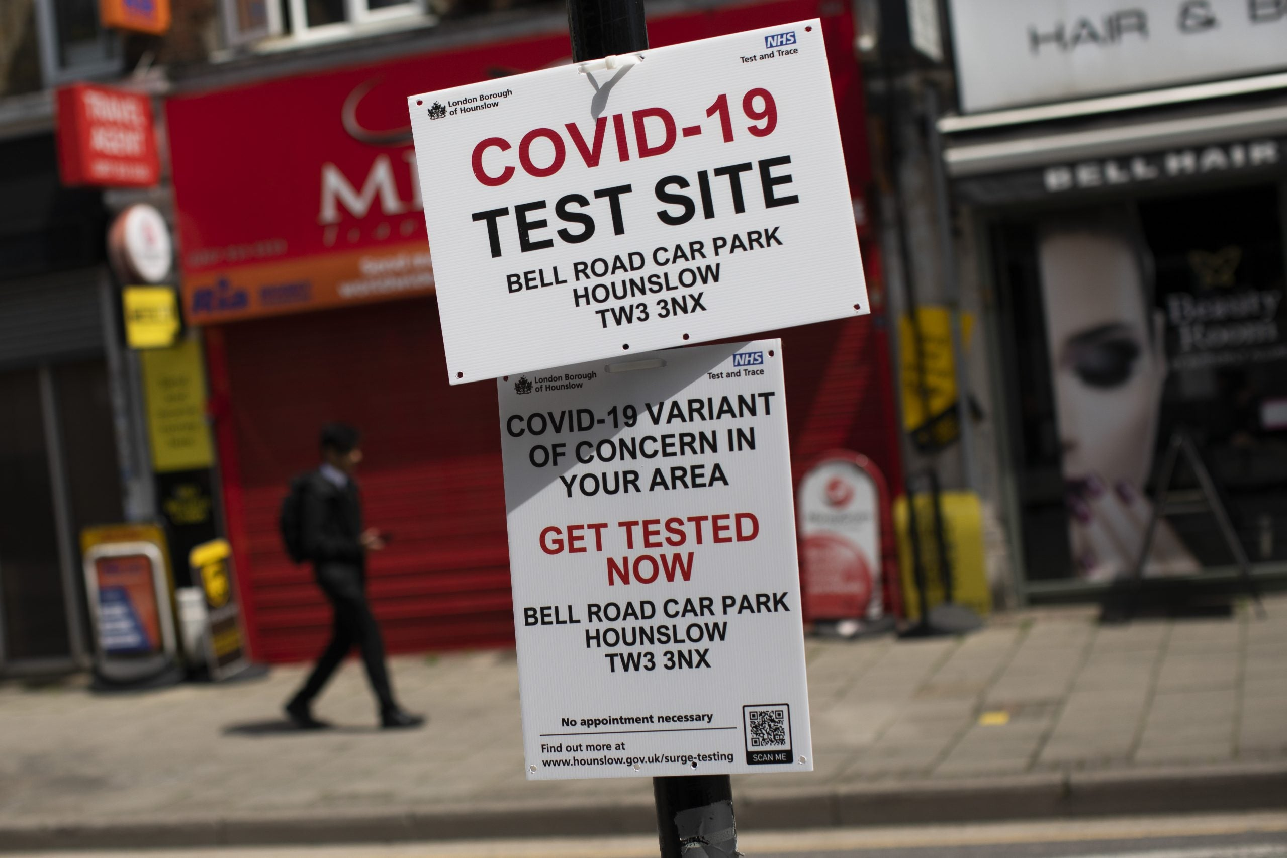 How the Indian Covid variant has surged in England