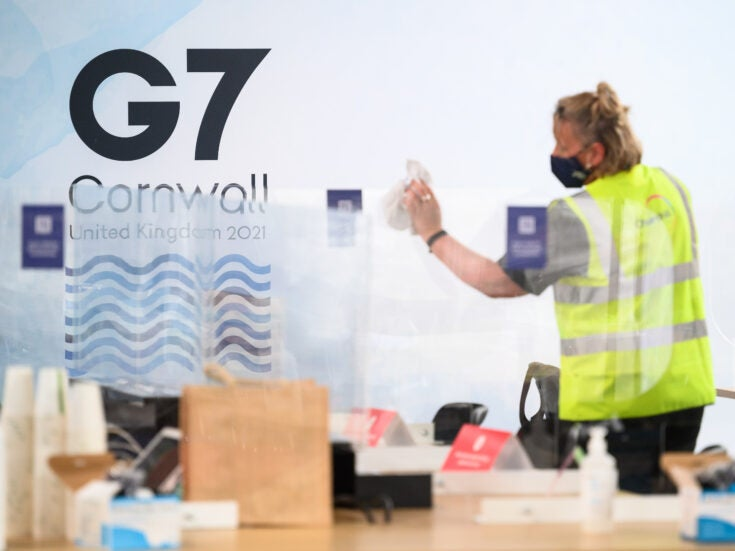 The UK was the only G7 member to cut foreign aid last year