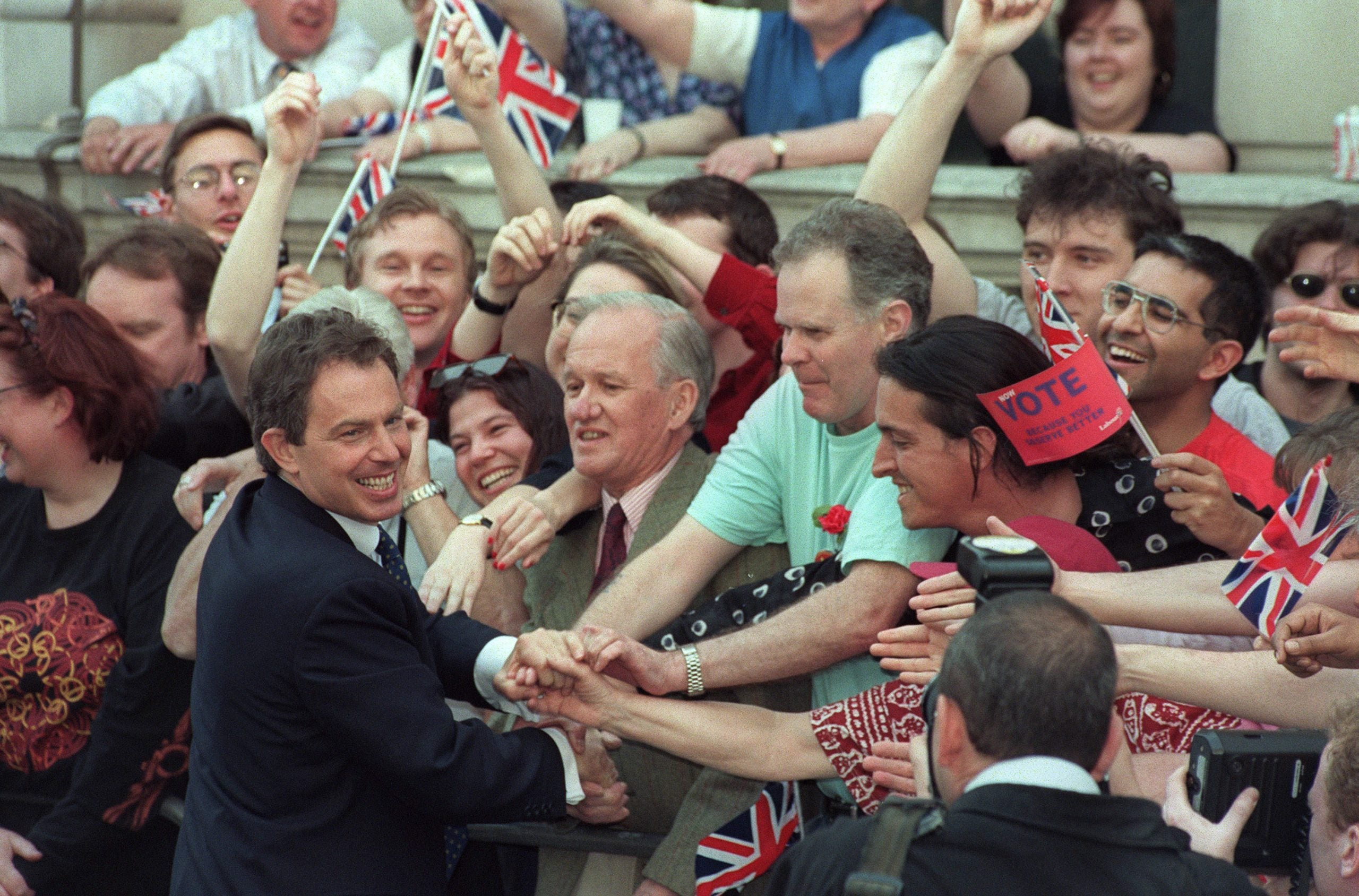 In 1997, I refused to get out of bed to see Blair. Some things just aren't worth it