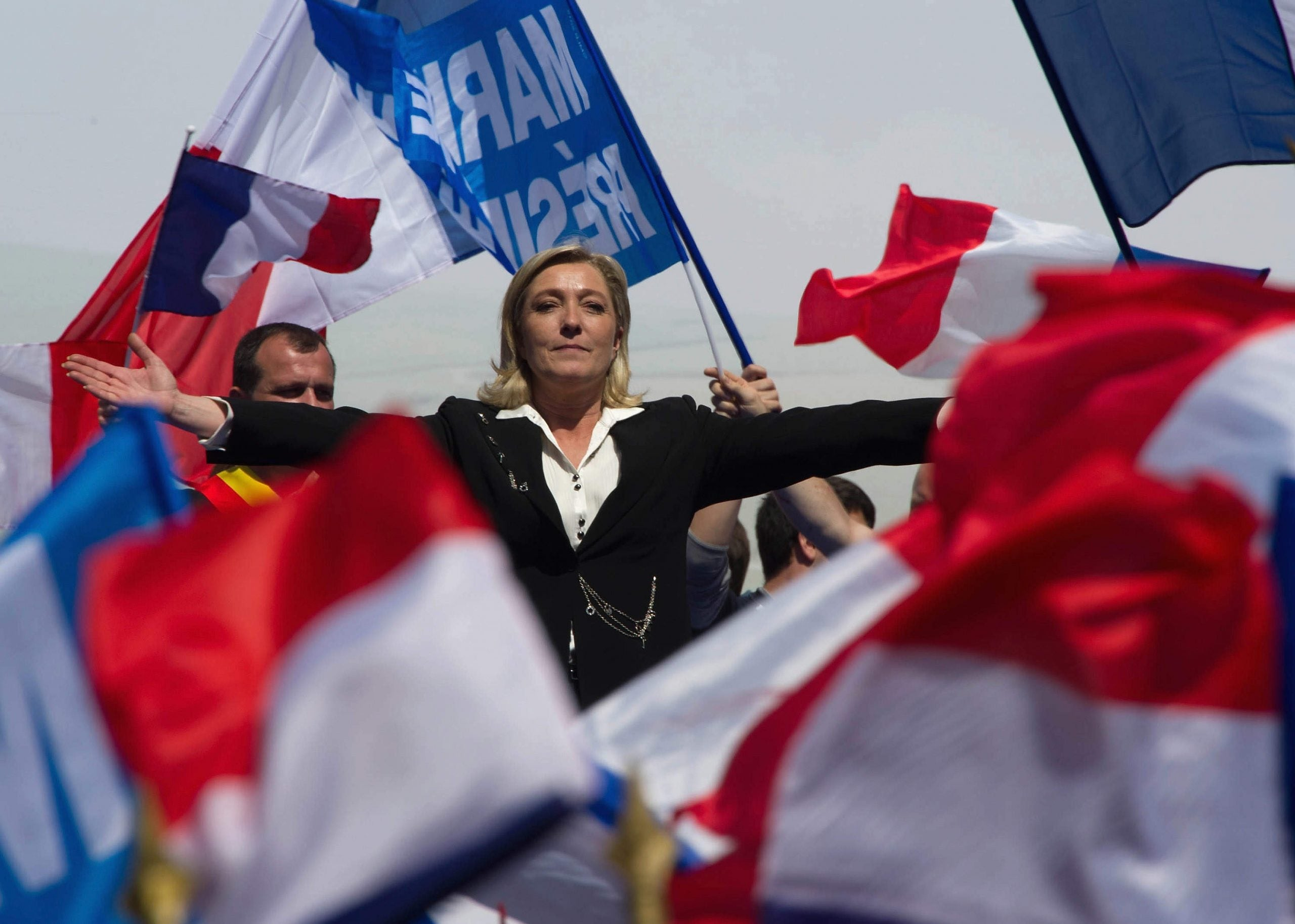 An embarrassing admirer: no one wants to see Theresa May succeed more than Marine Le Pen