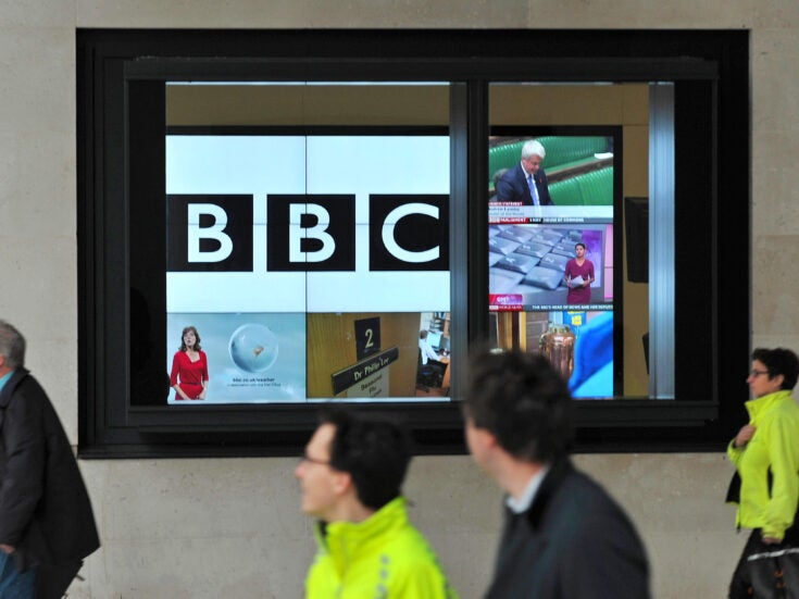 The BBC faces a cash crisis just as live viewing of its terrestrial channels is falling off a cliff
