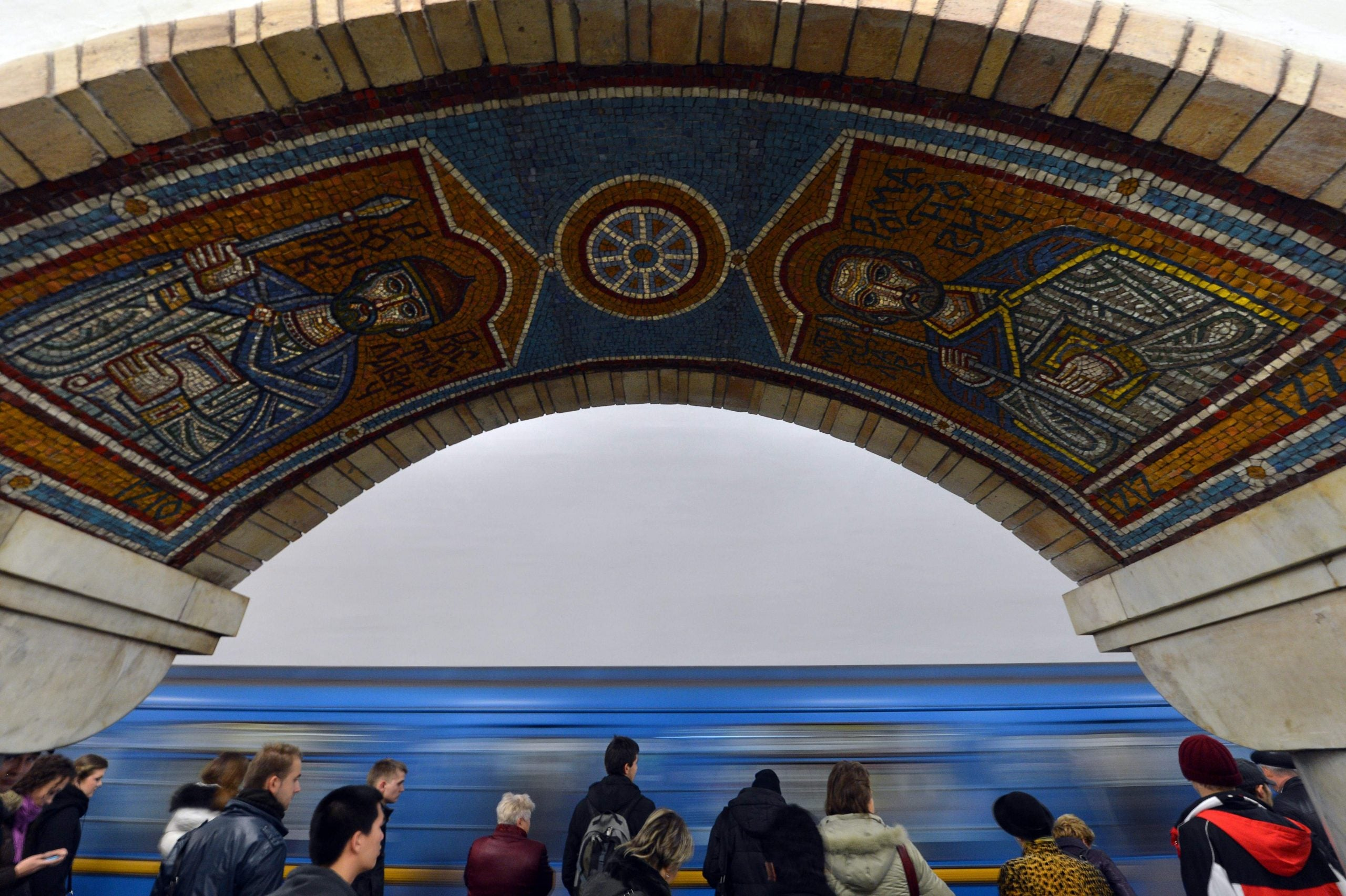 An escalator deep under Kyiv has the power to change the rider's existence