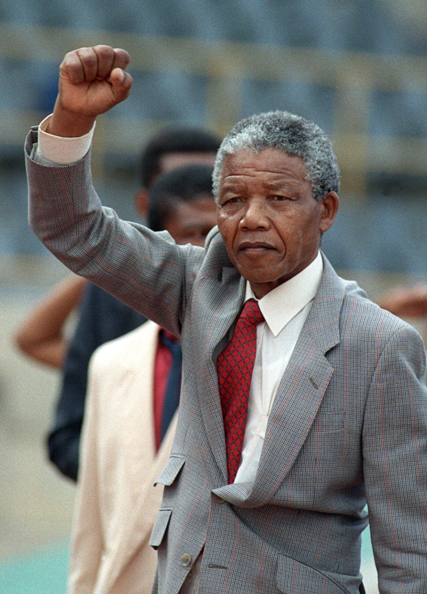 From the NS archive: Nelson Mandela at large