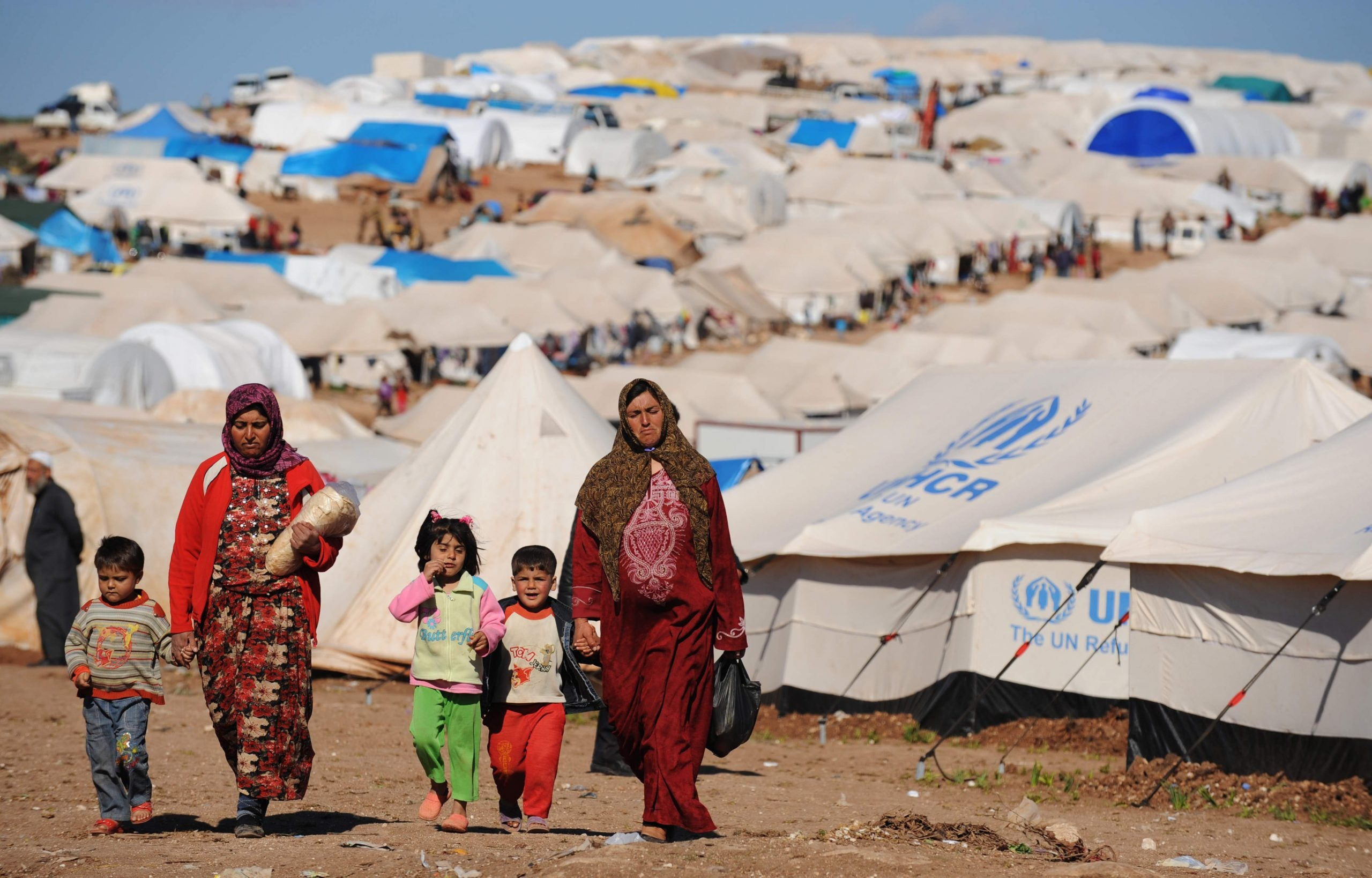 """""""We are human beings"""": Khaled Hosseini on the story of Syria's refugees"""