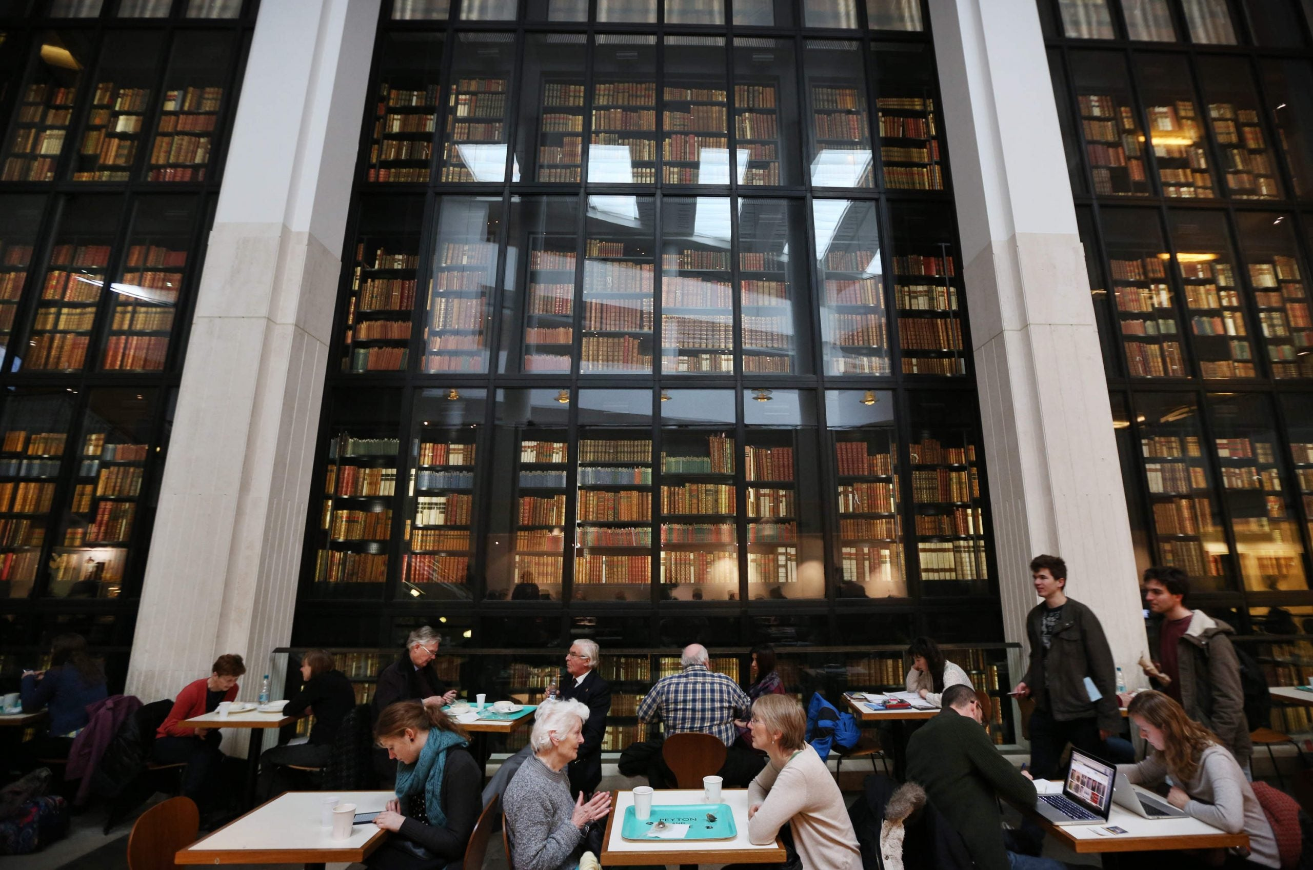 Libraries are for the homeless, the drifters and the snorers – people like me