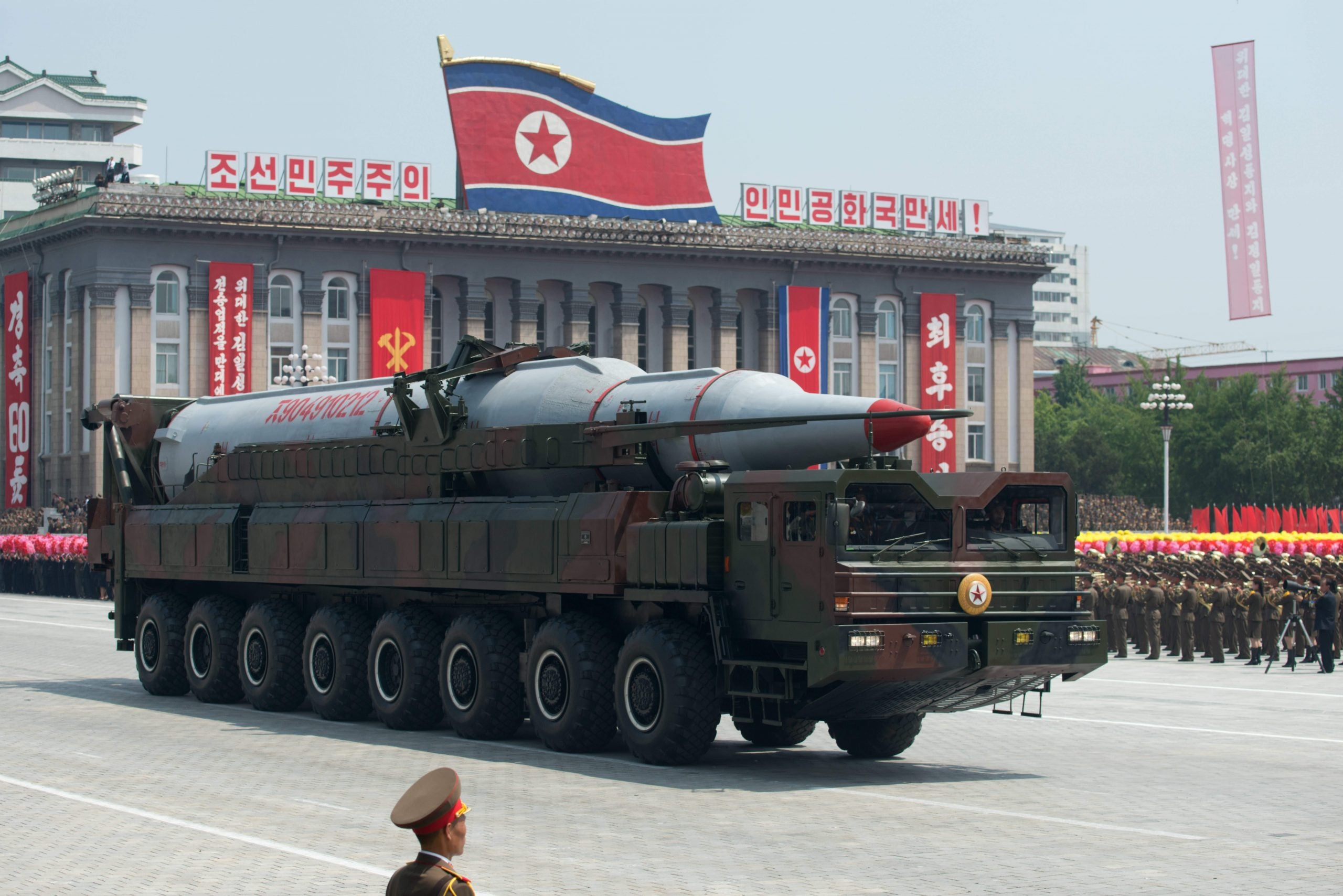 Gaming North Korea's missiles: what are the mathematics of peace?
