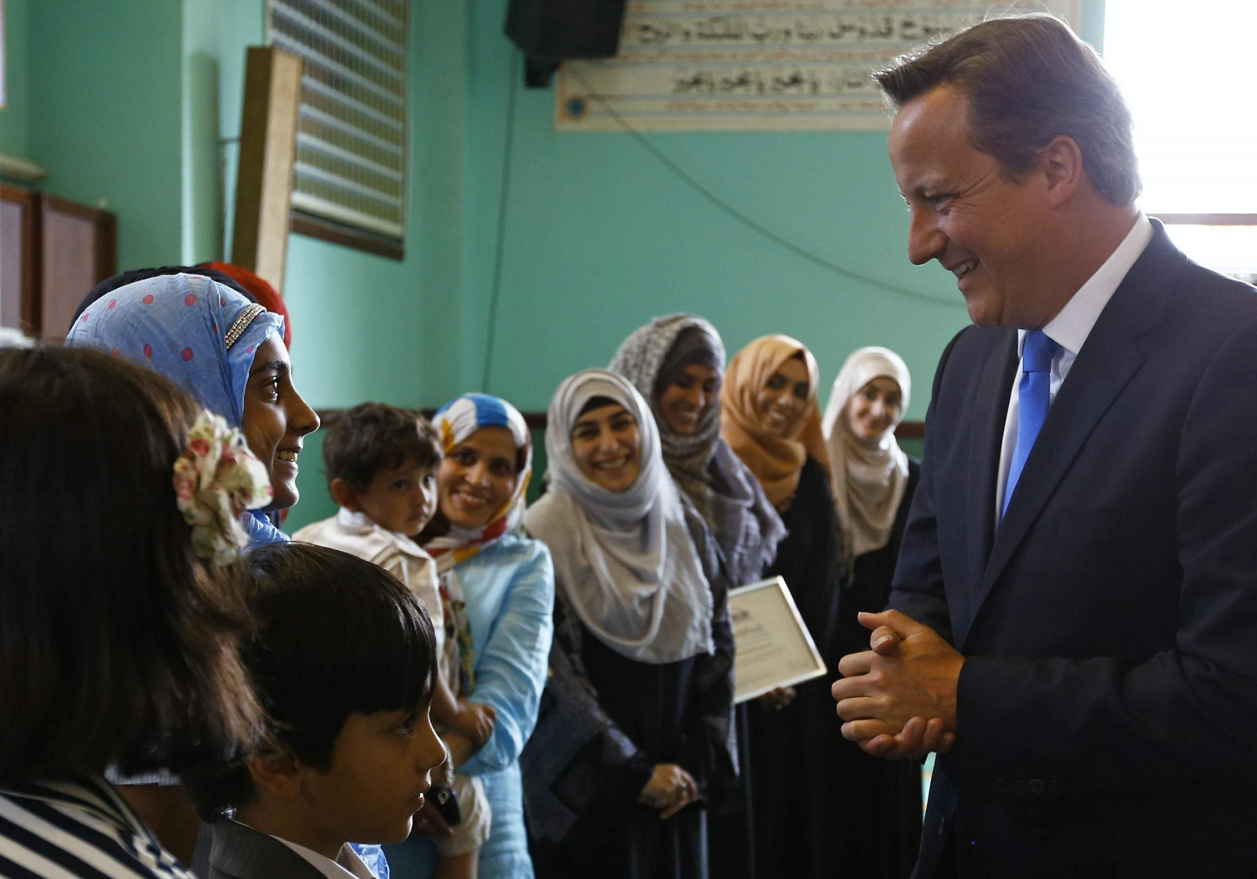 Why is David Cameron using British Muslims as the scapegoat for his government's failings?