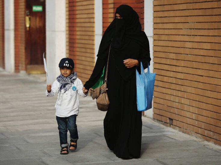 Have you ever met a woman in a niqab? Has one ever harmed you?