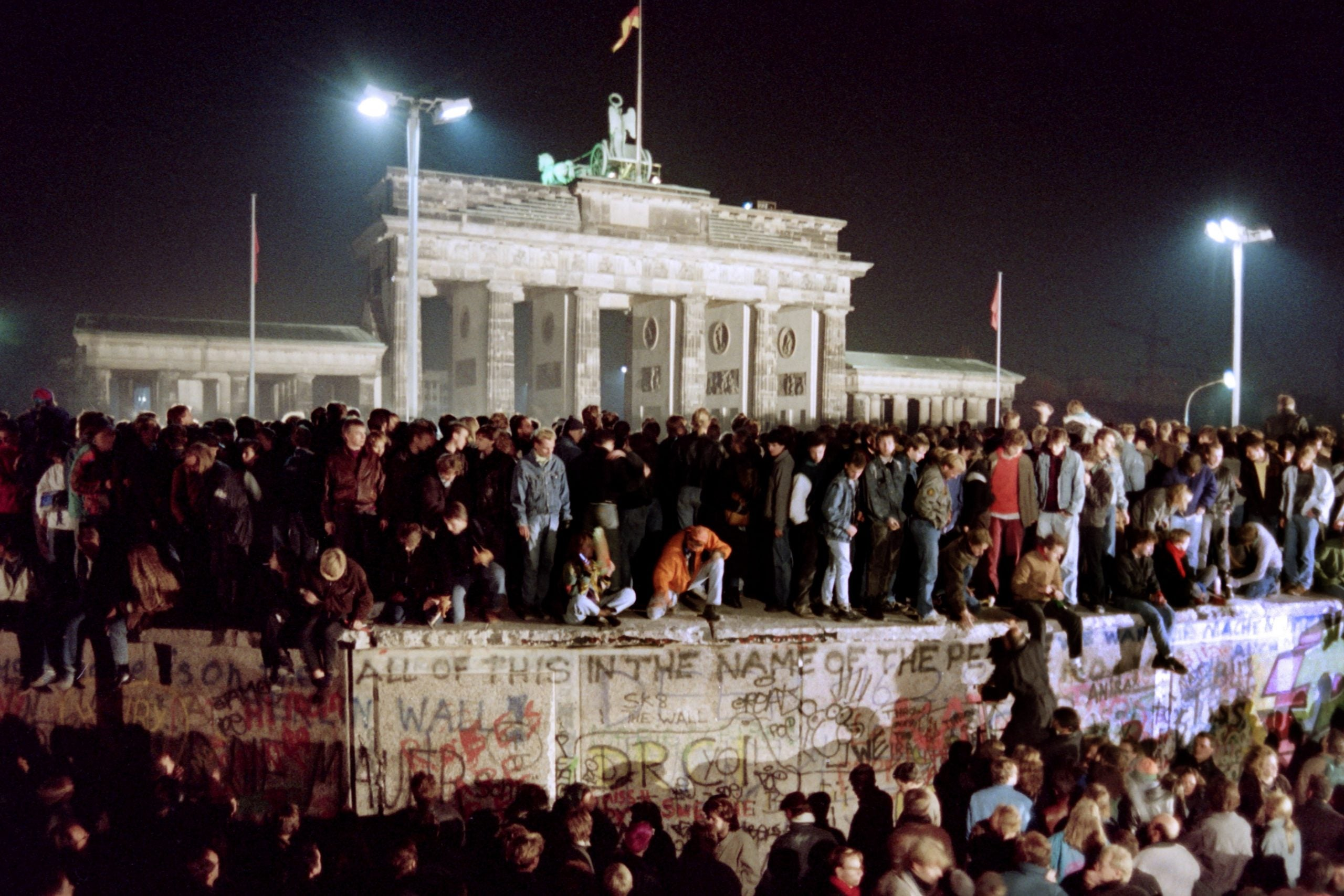 Germany seems strong, but it is still grappling with the forces unleashed when the wall fell
