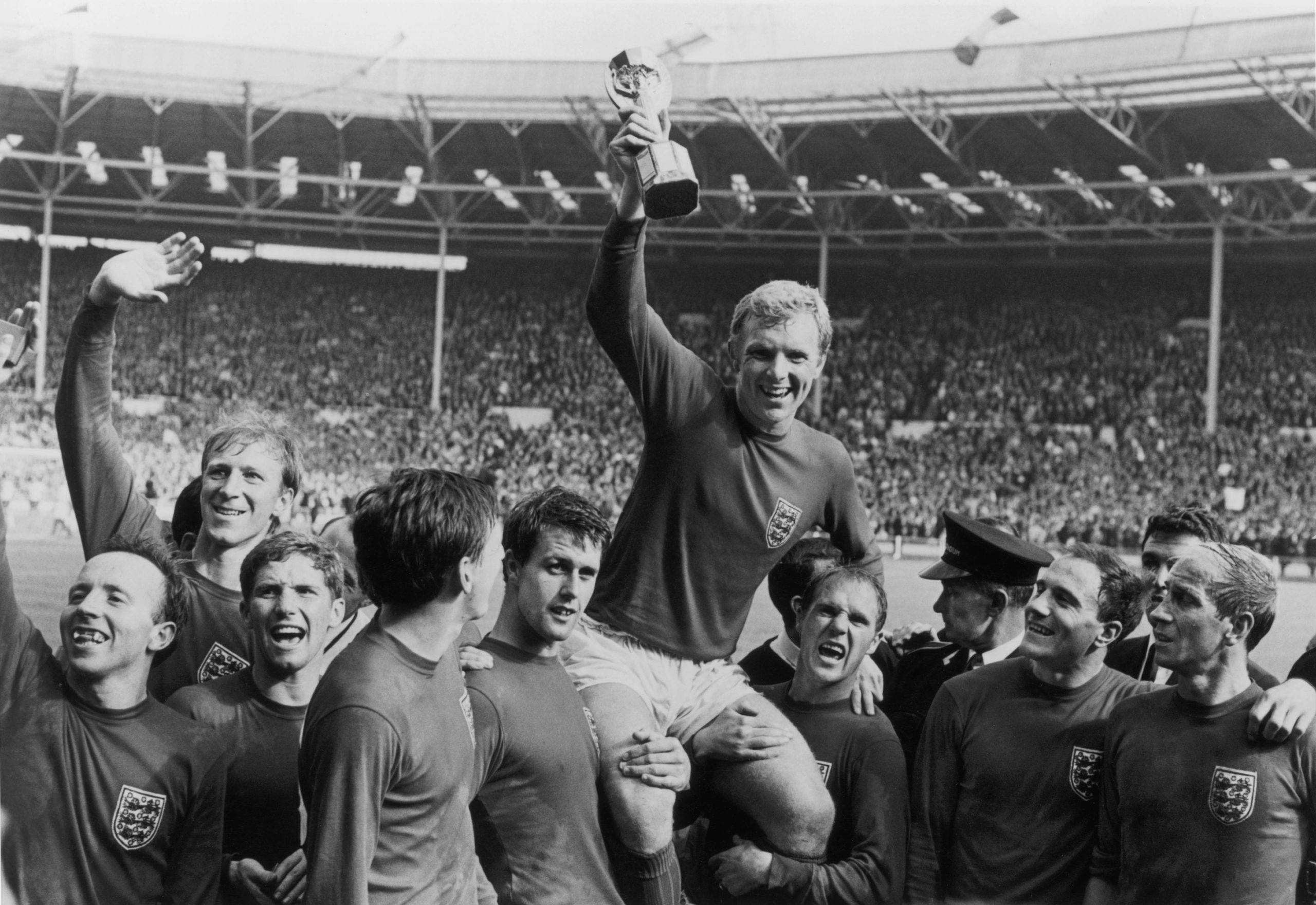 The joy of only winning once: why England should be proud of 1966