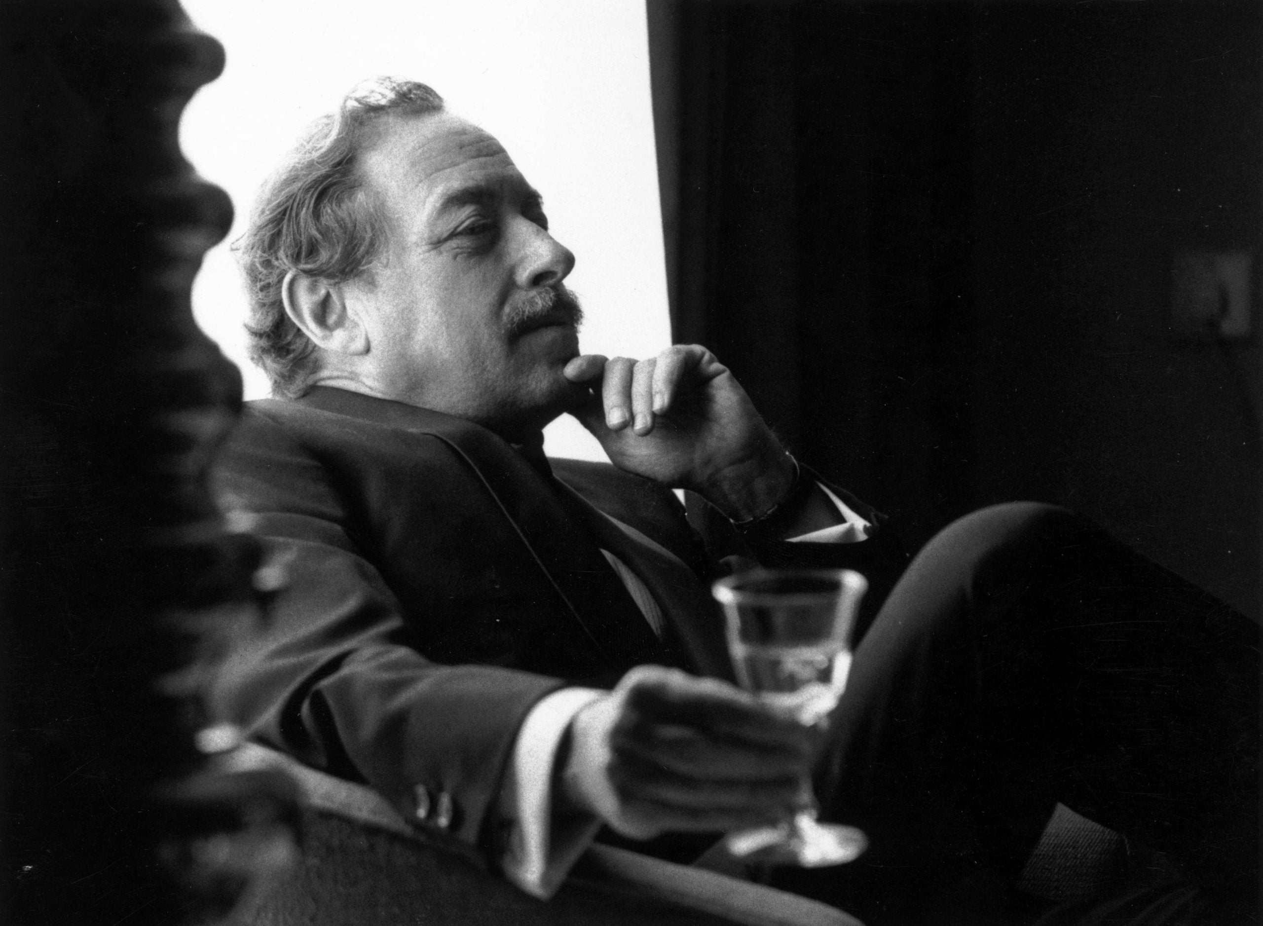 A chat with Tennessee Williams that ultimately sounds more like jazz than words