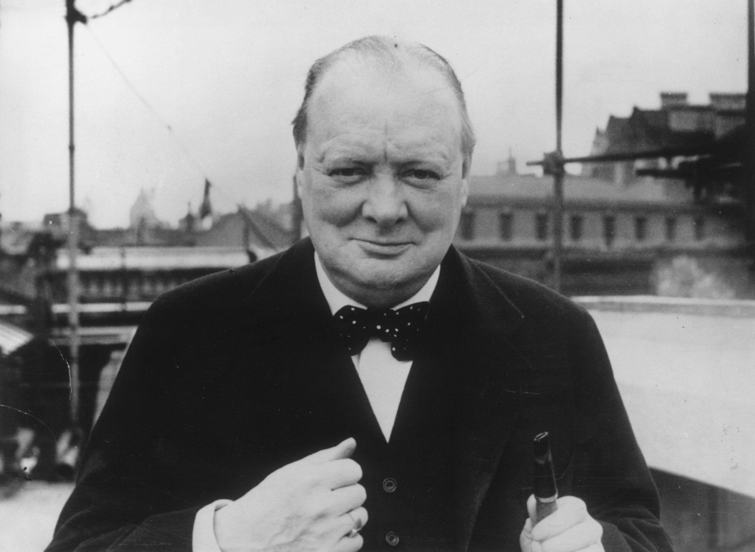 BBC Radio 4's Book of the Week, Churchill's Passions, is full of powerful images, and sounds fantastic