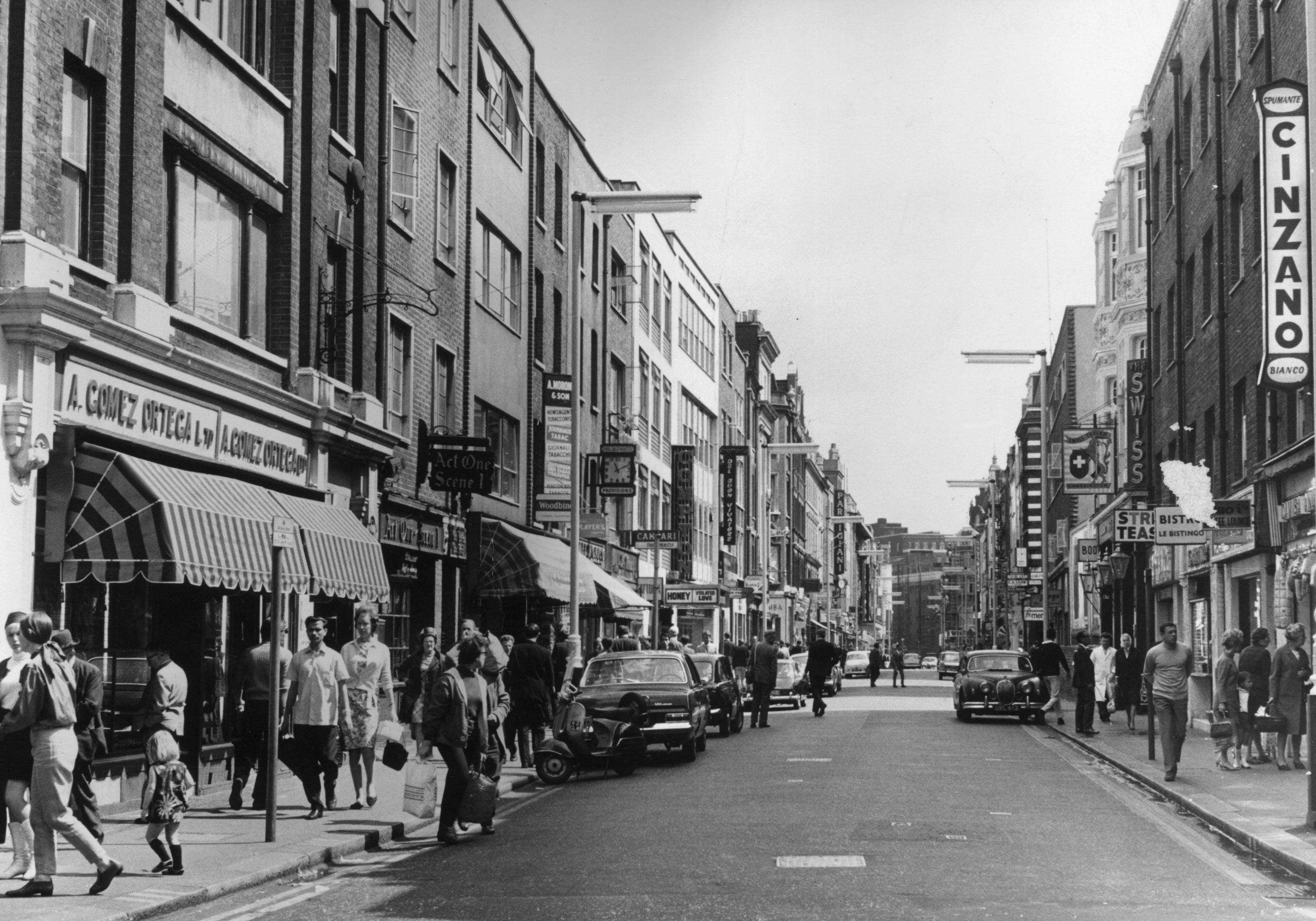 If you felt small, broke and bitter, there was a man in Soho who put you right – but he's gone